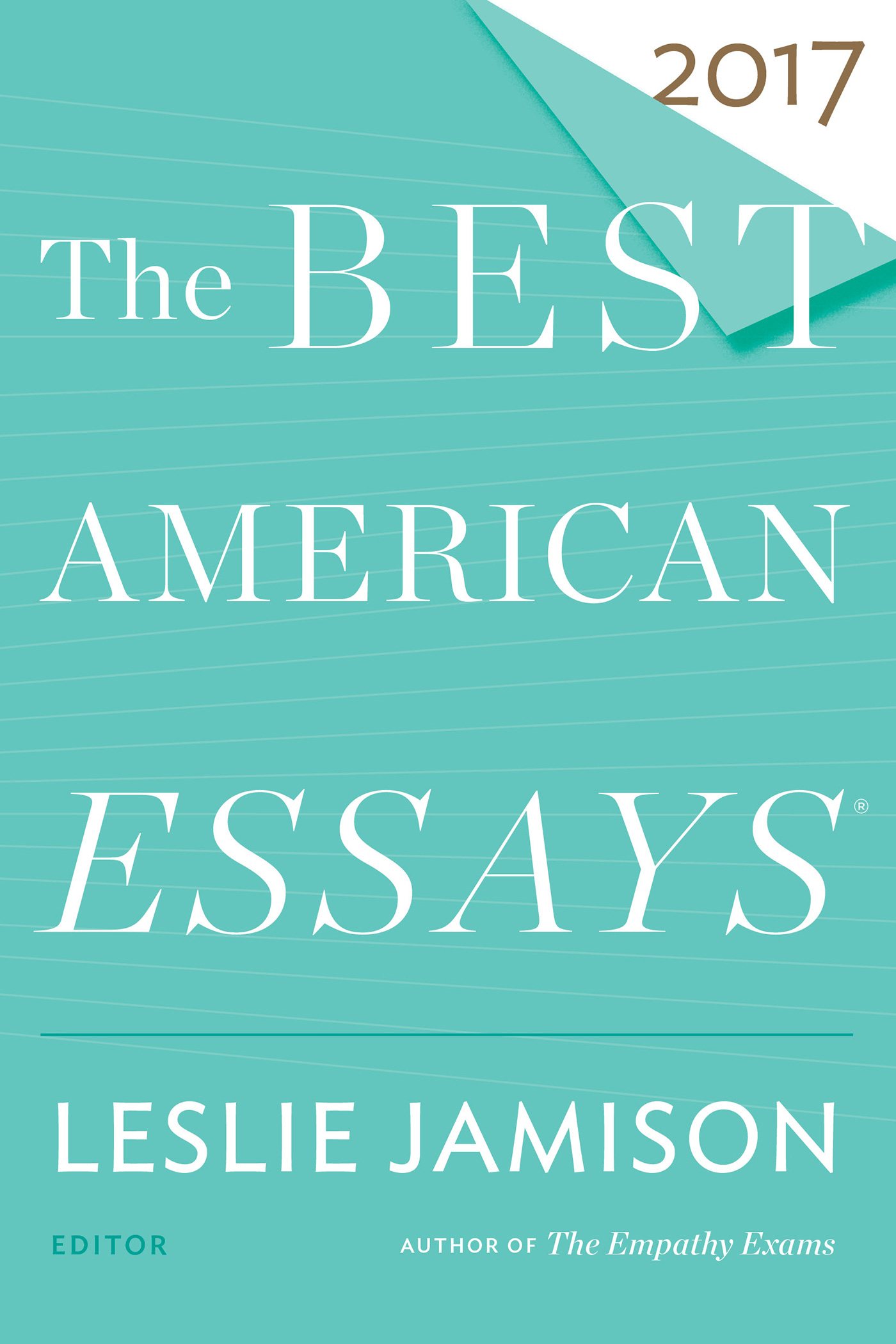 The Best American Essays 2017-9780544817333
