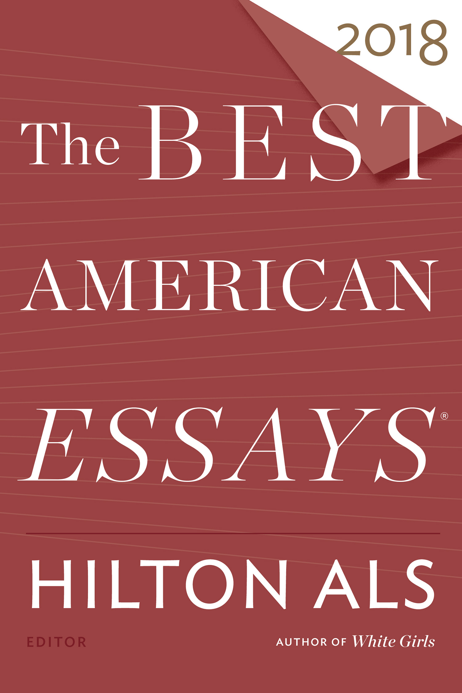 The Best American Essays 2018-9780544817340