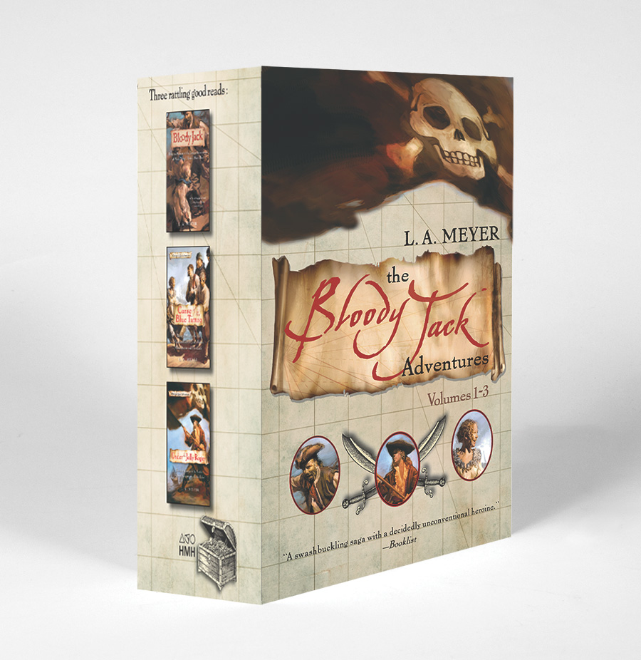 The Bloody Jack Adventures Boxed Set-9780544821200