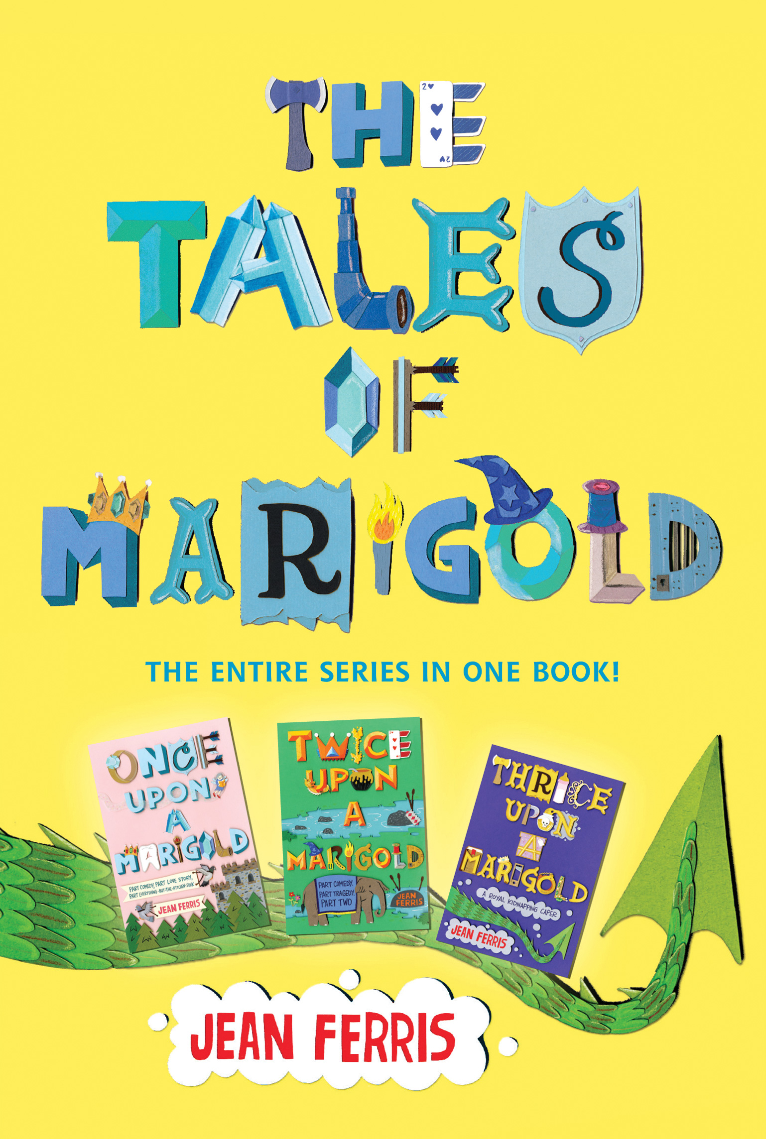 The Tales of Marigold Three Books in One!-9780544855922