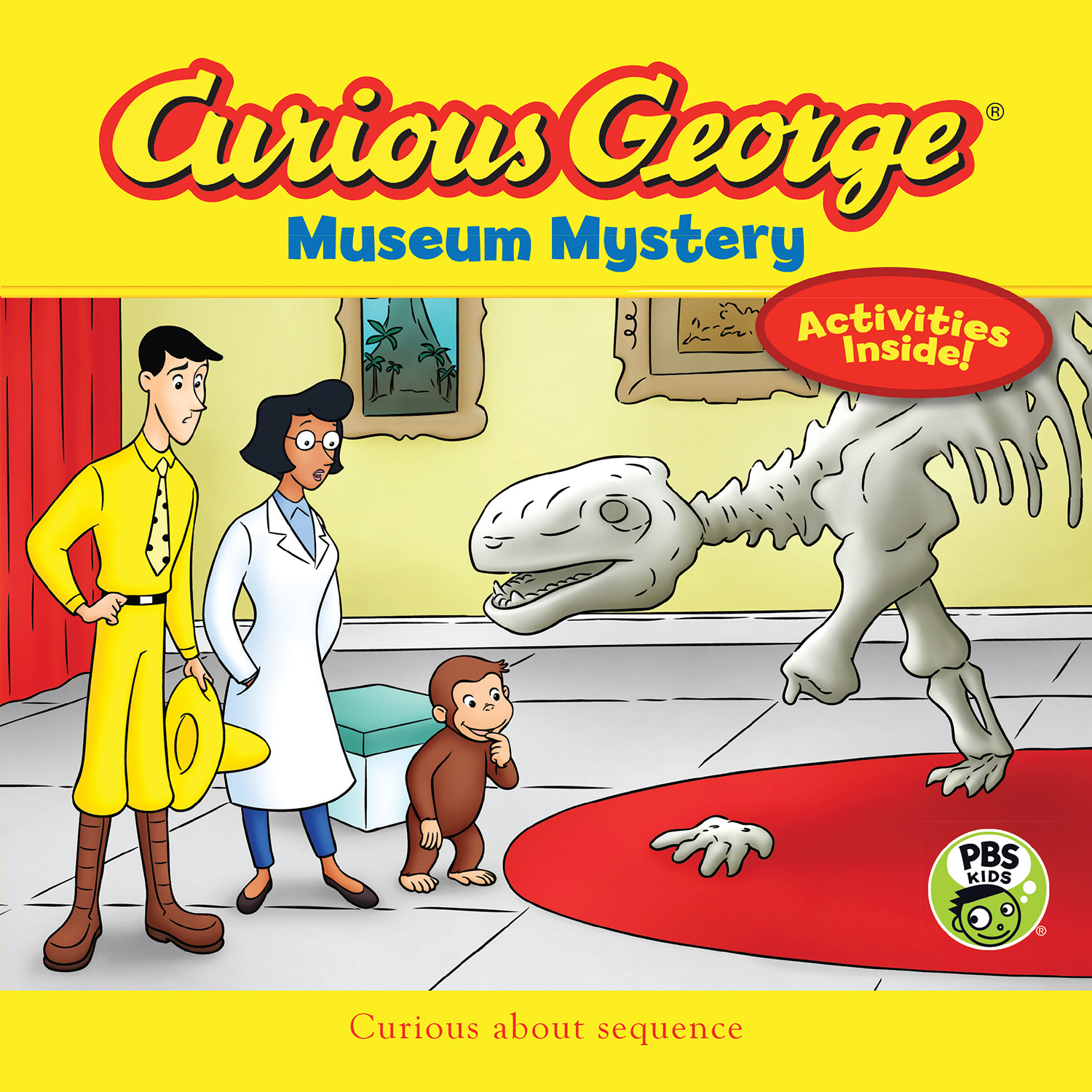 Curious George Museum Mystery (CGTV 8x8)-9780544859920