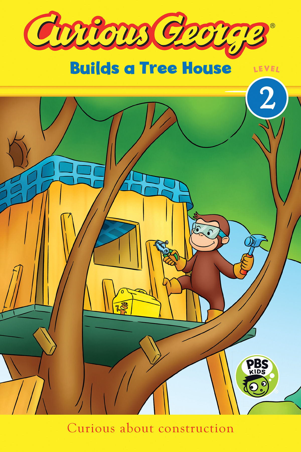 Curious George Builds a Tree House (CGTV Reader)-9780544867048