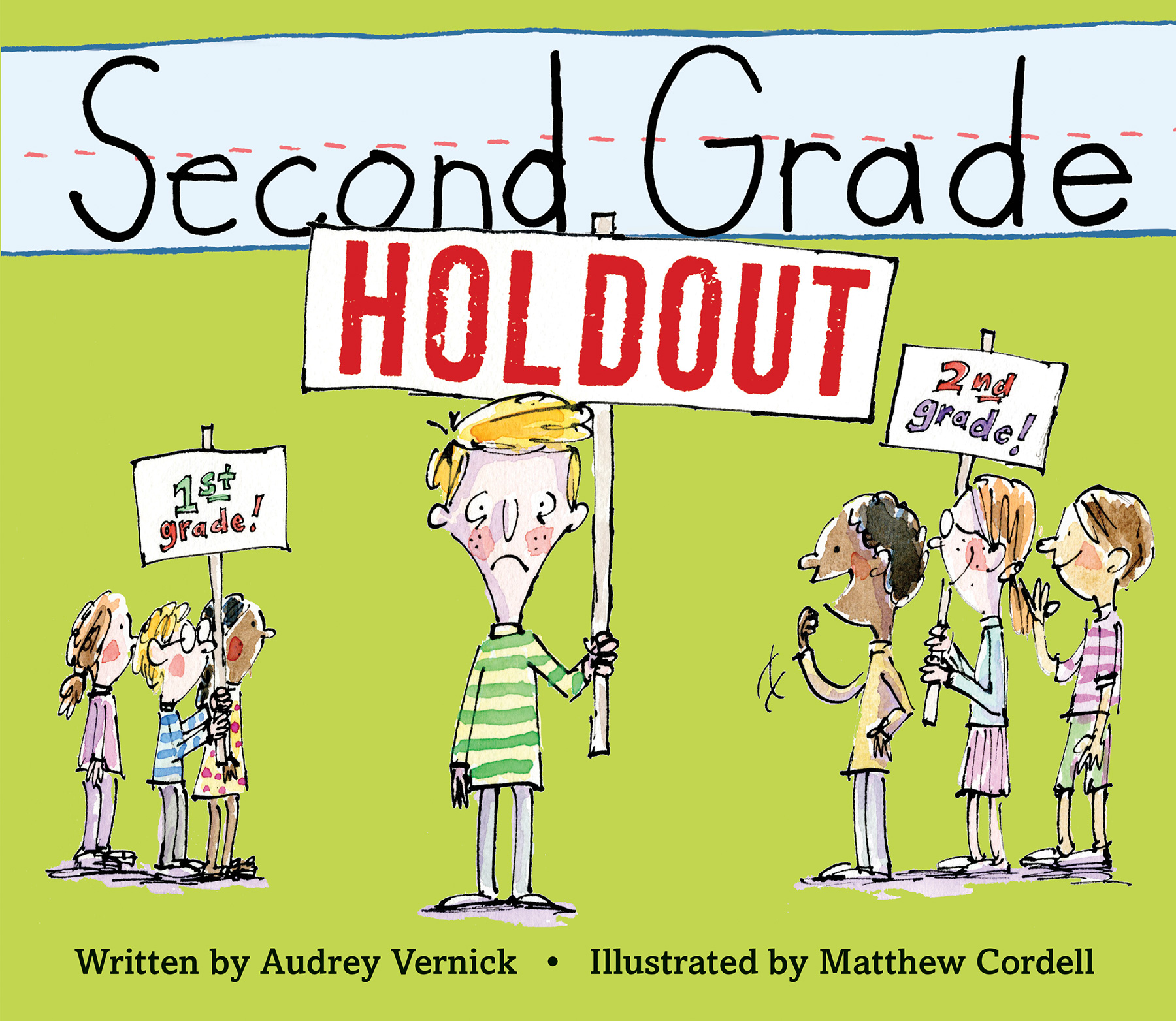 Second Grade Holdout-9780544876811