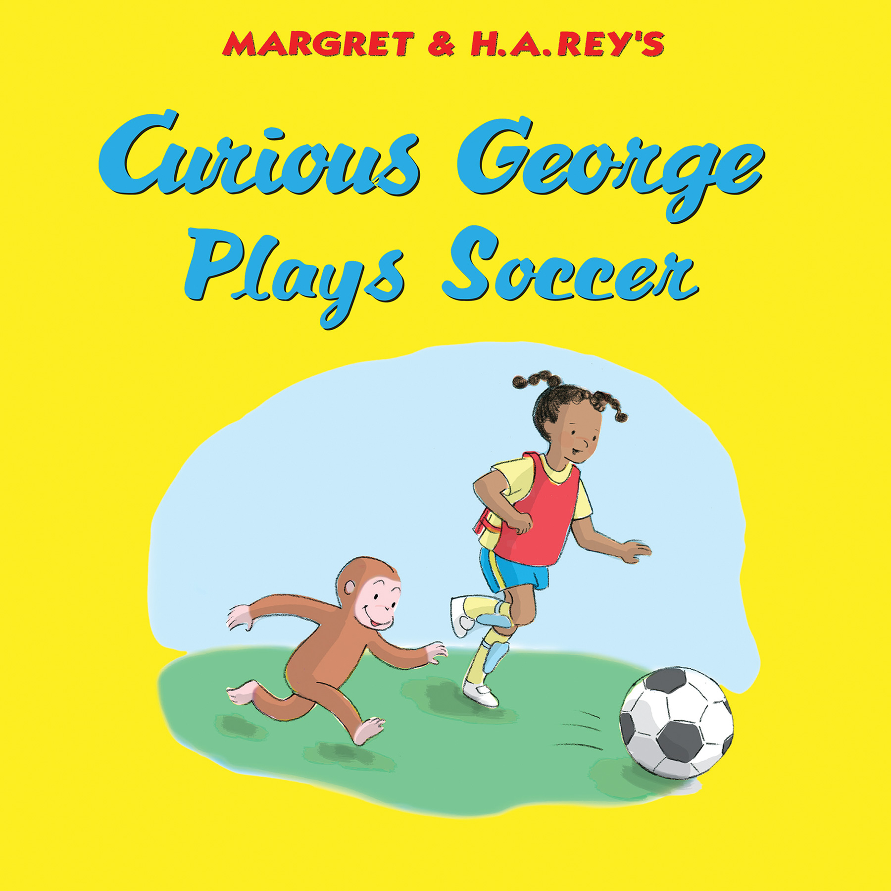 Curious George Plays Soccer-9780544912465