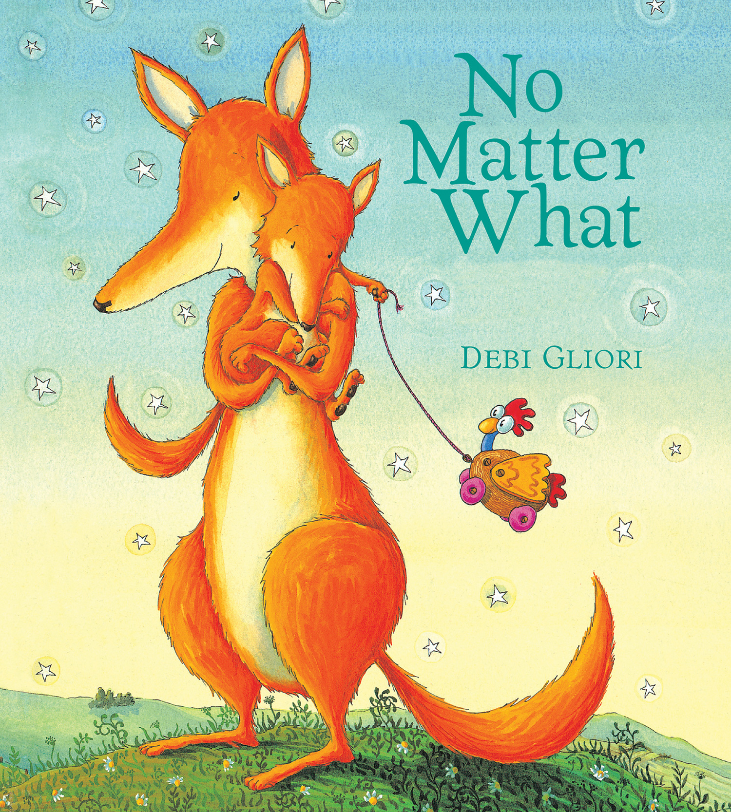 No Matter What (Padded Board Book)-9780544915848
