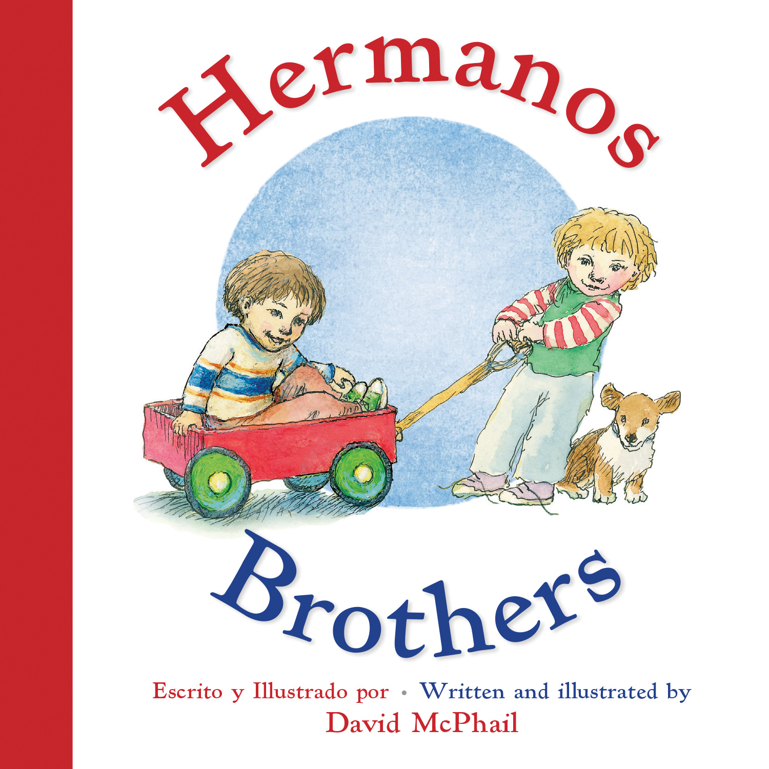 Hermanos/Brothers (Bilingual Board Book Spanish Edition)-9780544915862
