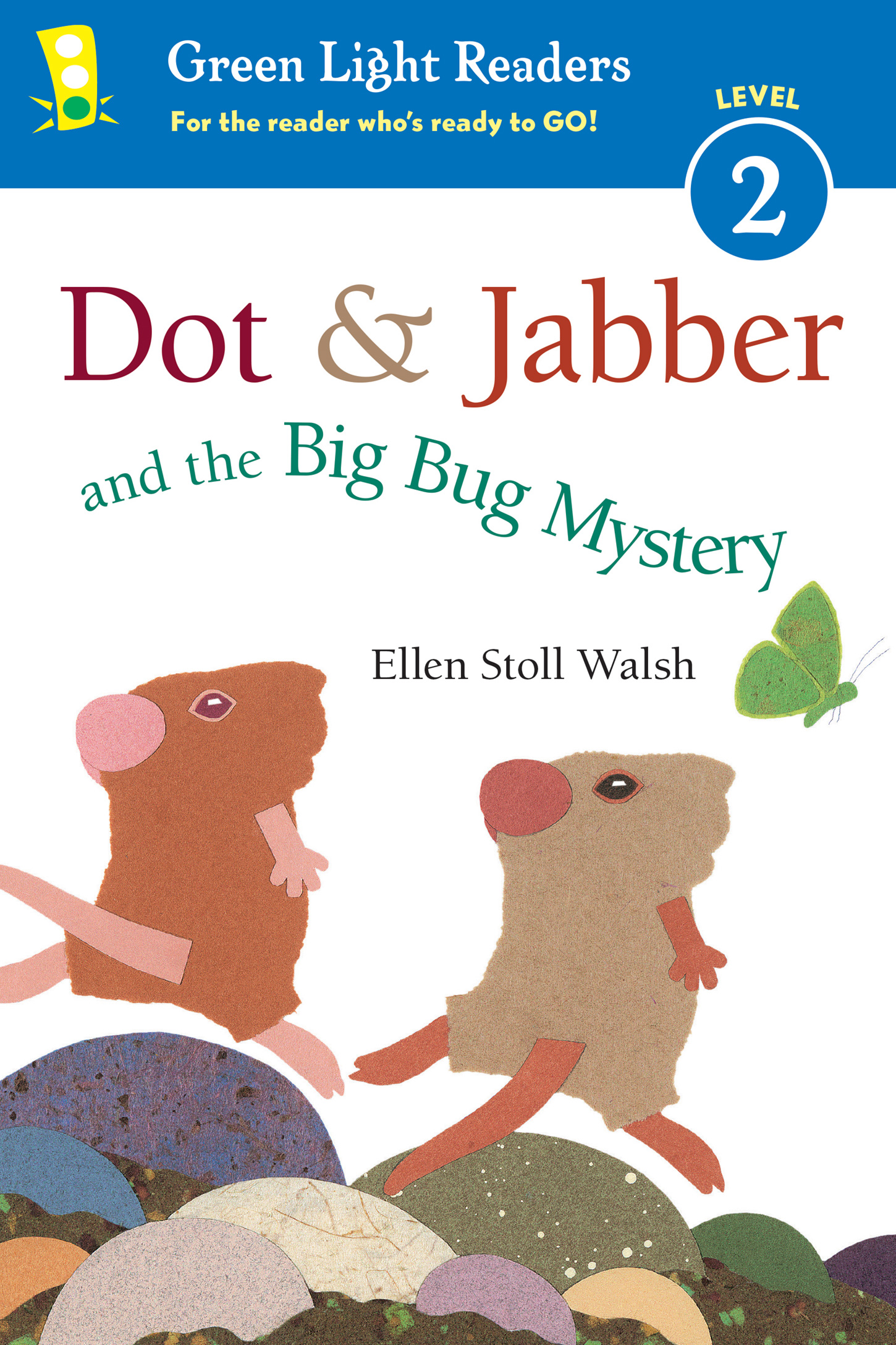 Dot & Jabber and the Big Bug Mystery-9780544925489