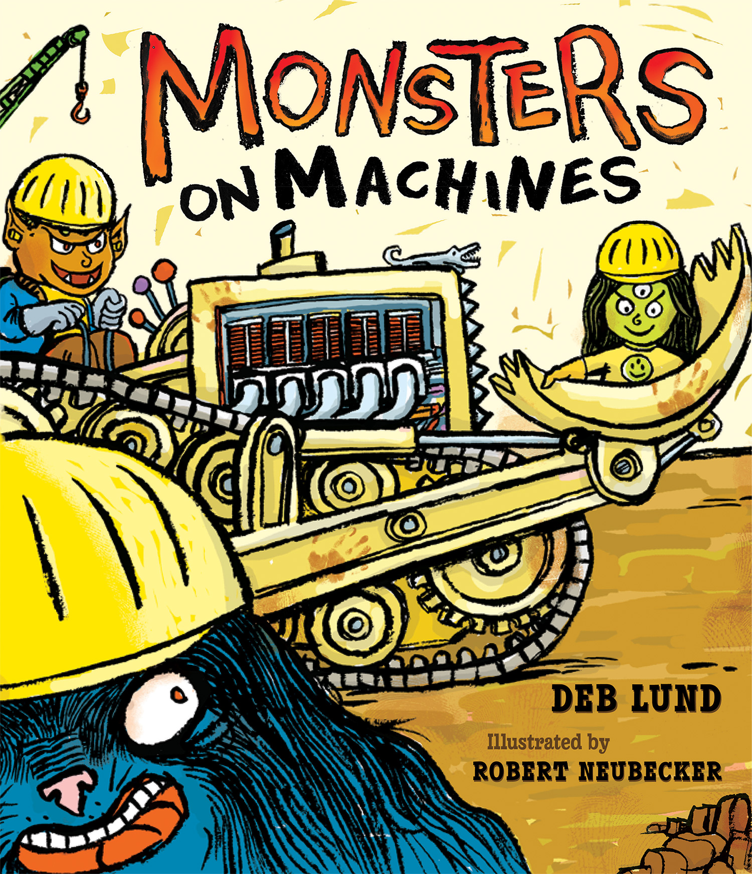 Monsters on Machines-9780544927834