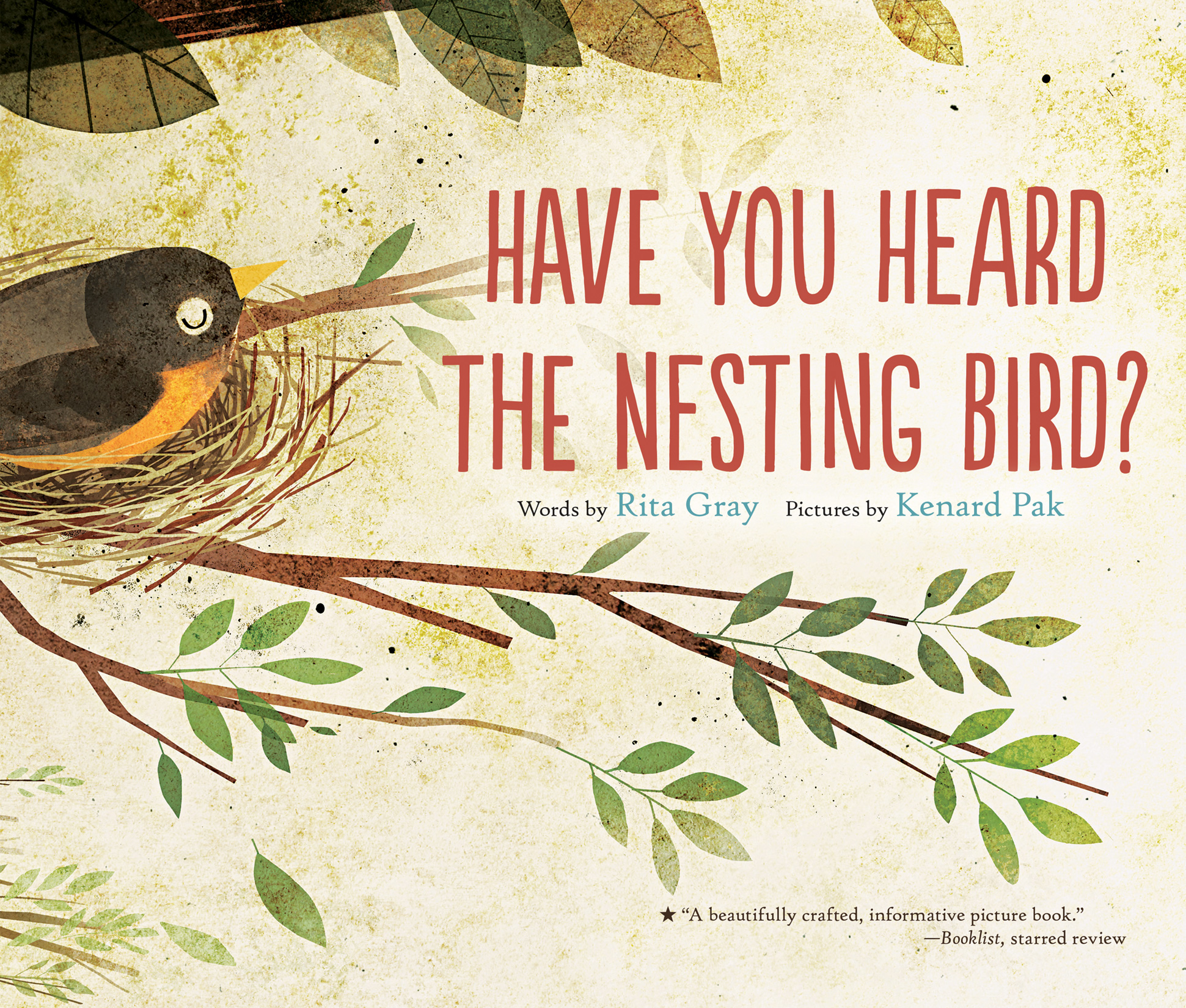 Have You Heard the Nesting Bird?-9780544930858