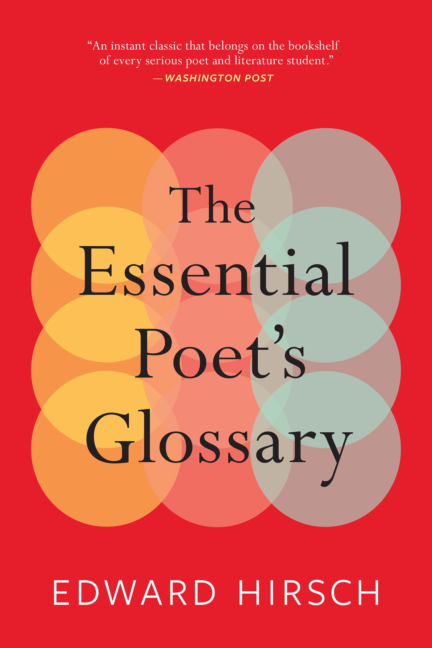 The Essential Poet's Glossary-9780544931237