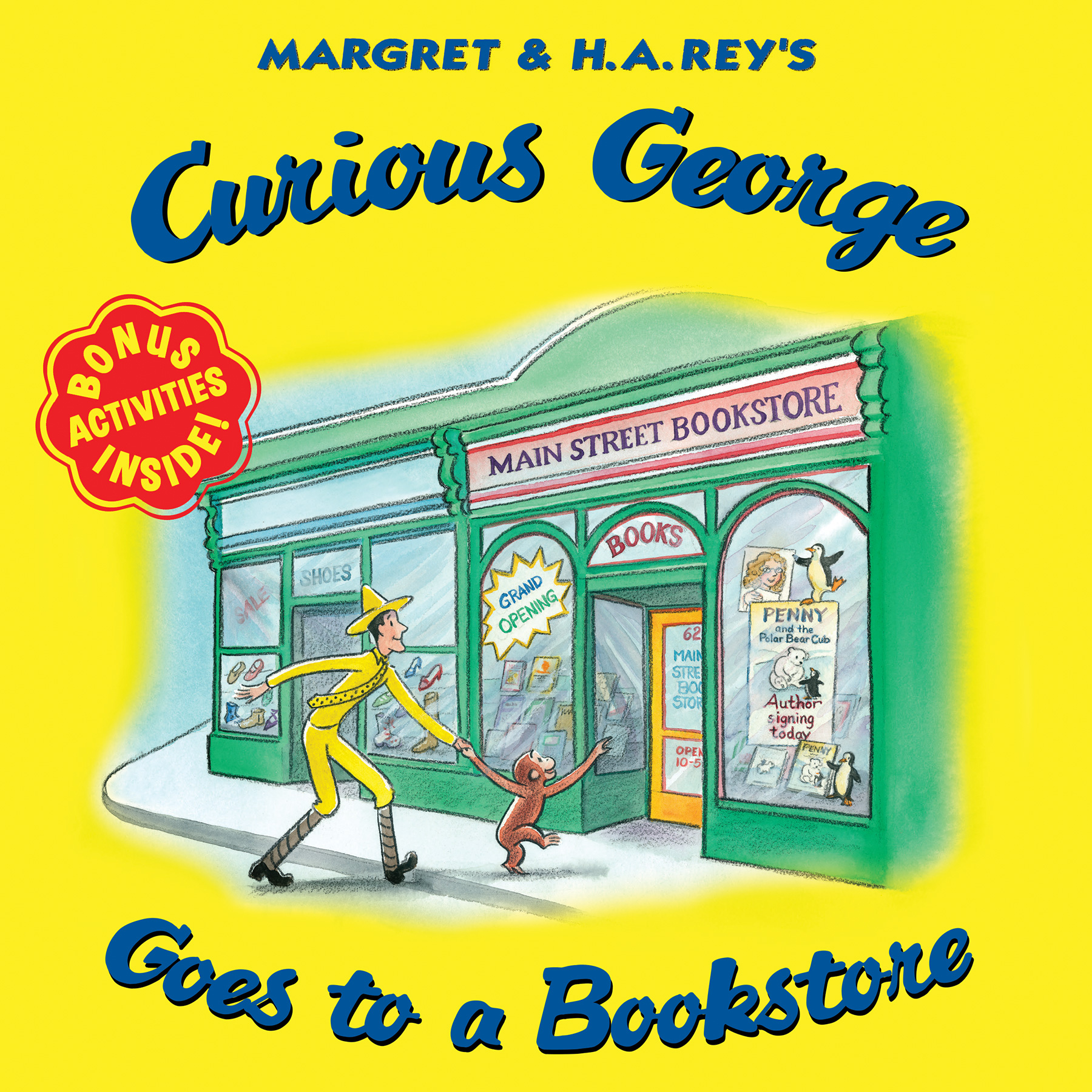 Curious George Goes to a Bookstore-9780544932043