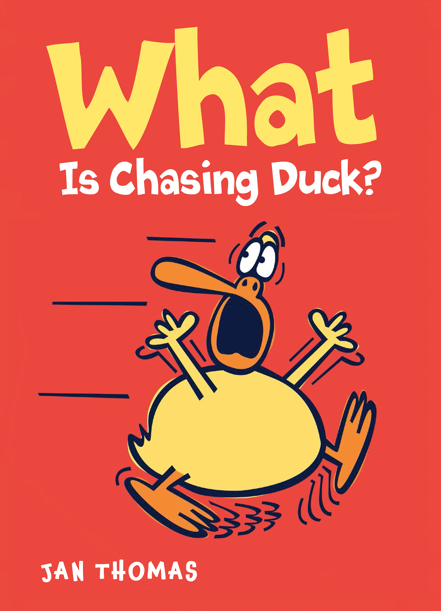 What Is Chasing Duck?-9780544939073