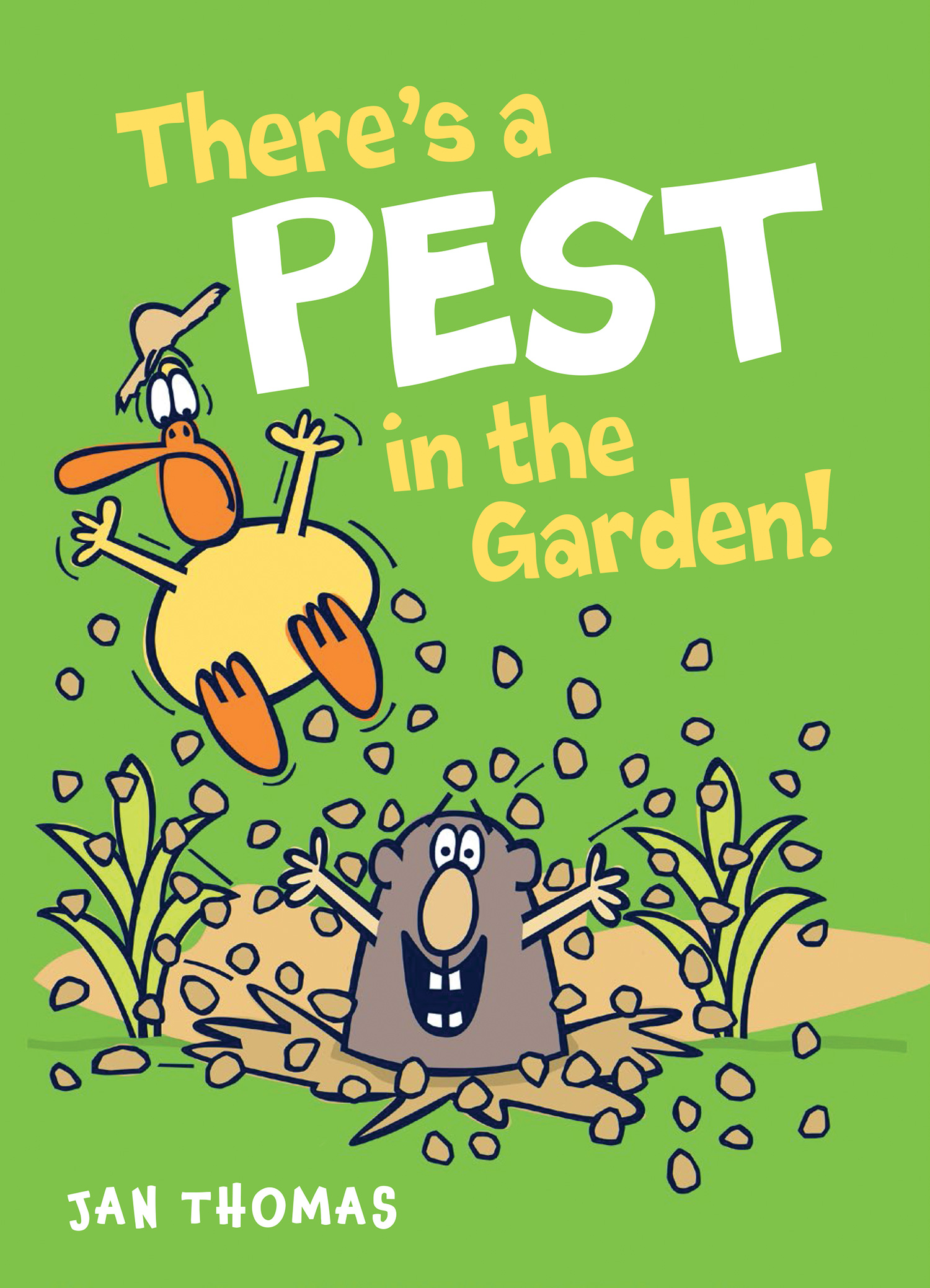 There's a Pest in the Garden!-9780544941656