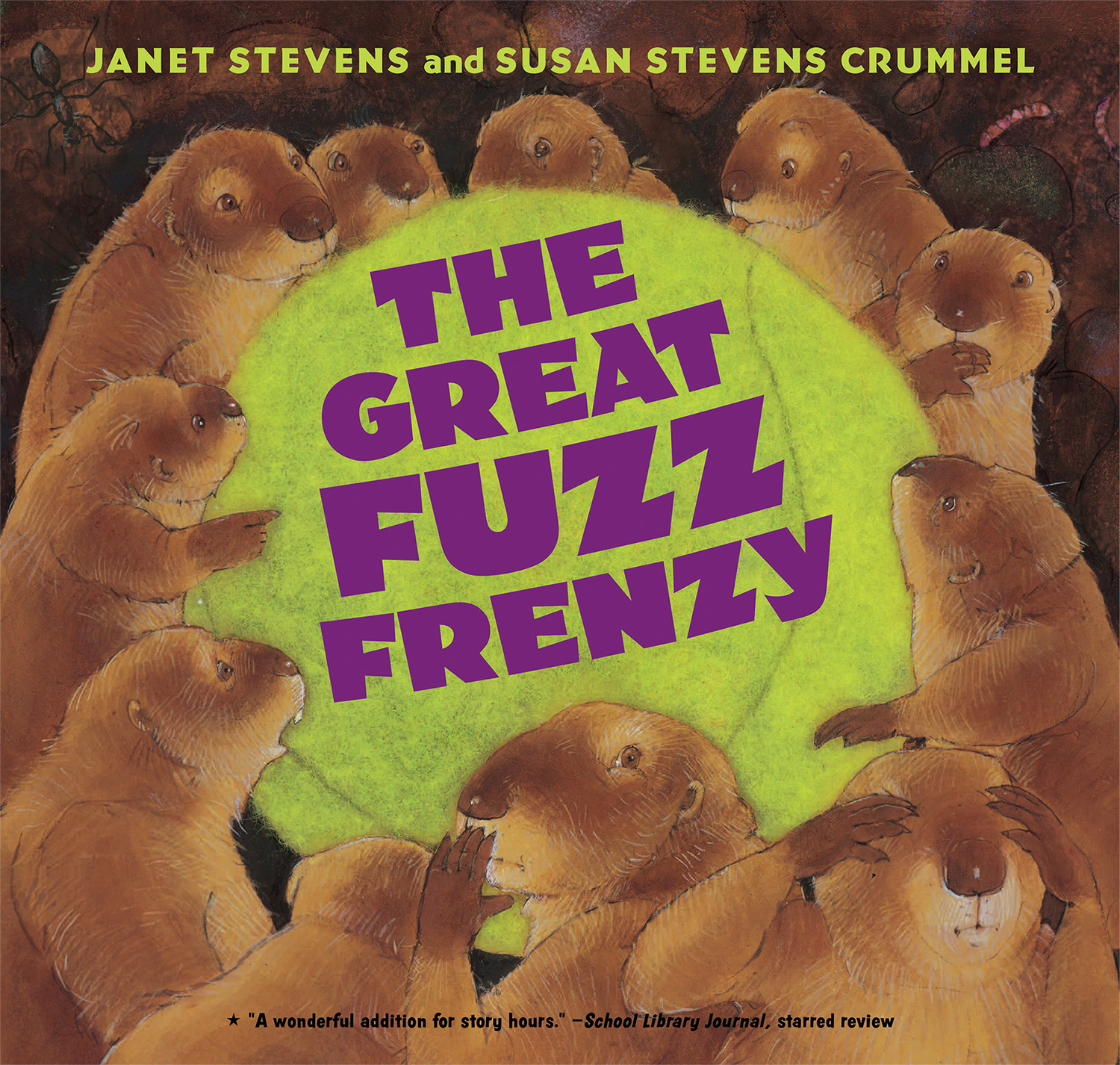 The Great Fuzz Frenzy-9780544943919