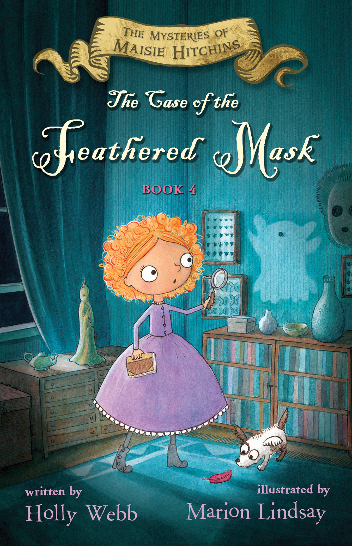 The Case of the Feathered Mask-9780544948846