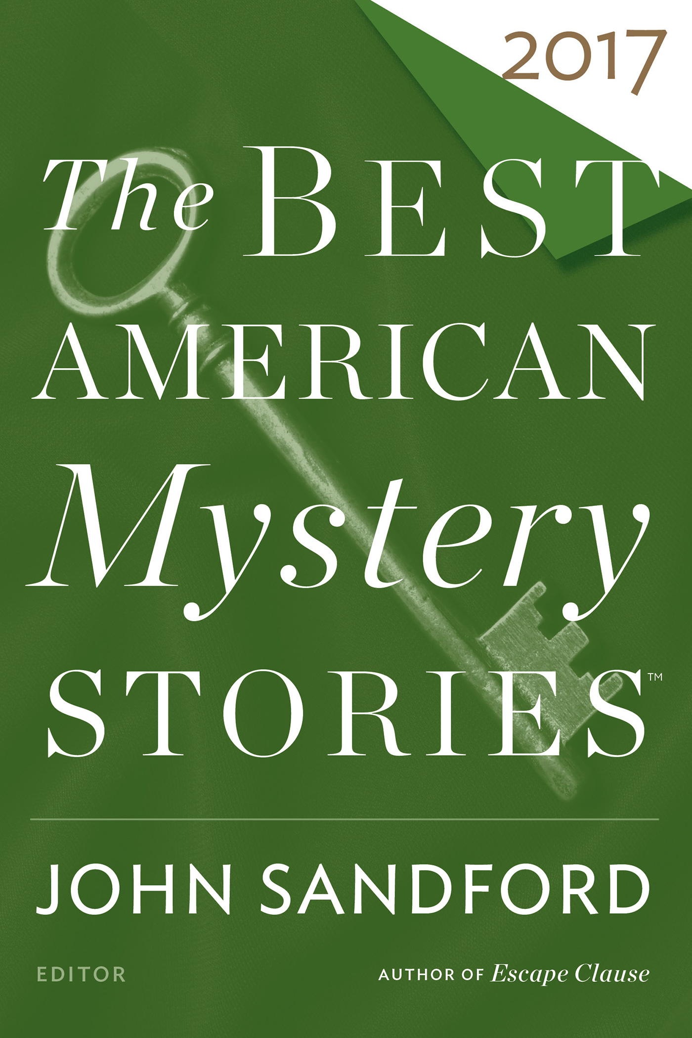 The Best American Mystery Stories 2017-9780544949089