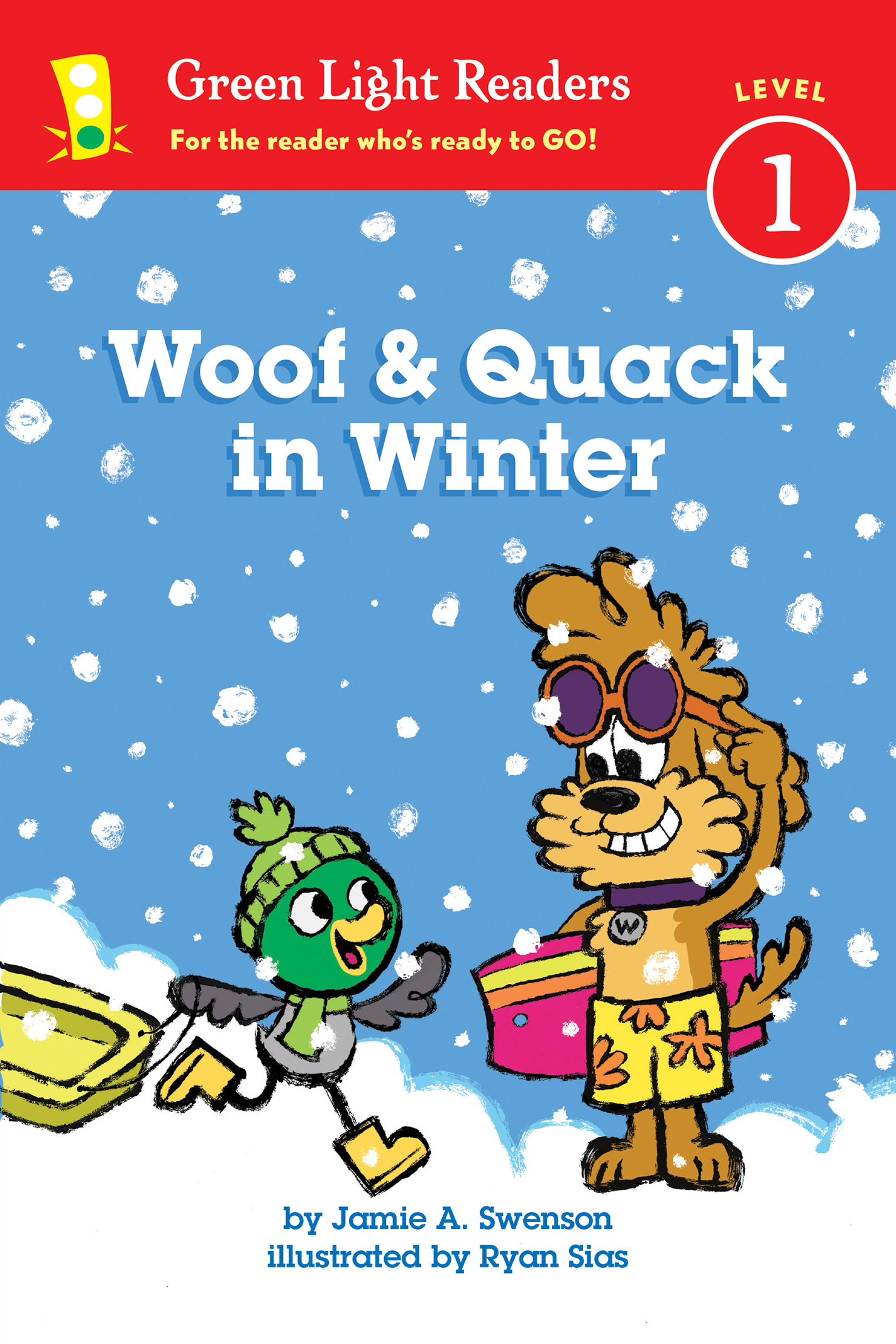 Woof and Quack in Winter (reader)-9780544959026