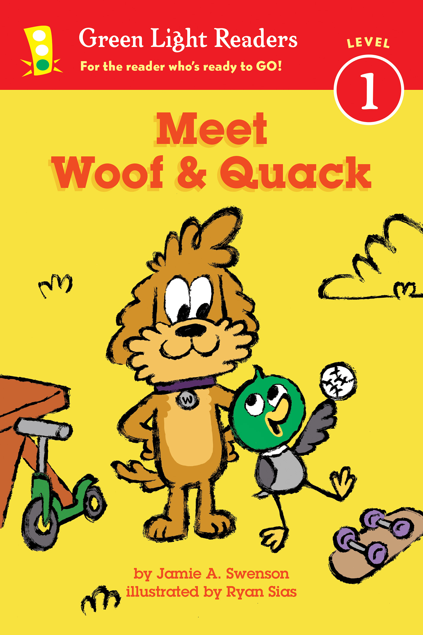 Meet Woof and Quack (reader)-9780544959514