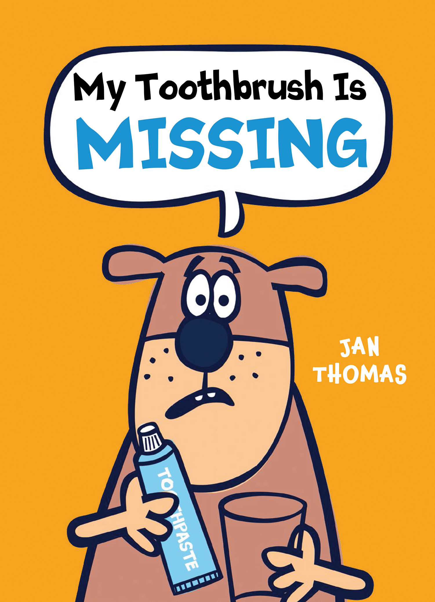 My Toothbrush Is Missing-9780544966352