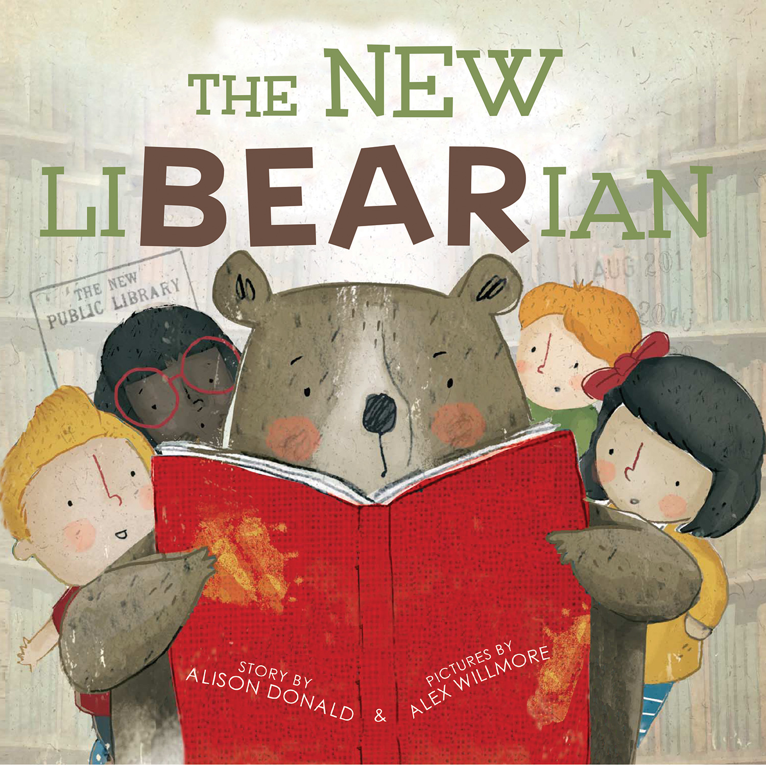 The New LiBEARian-9780544973657