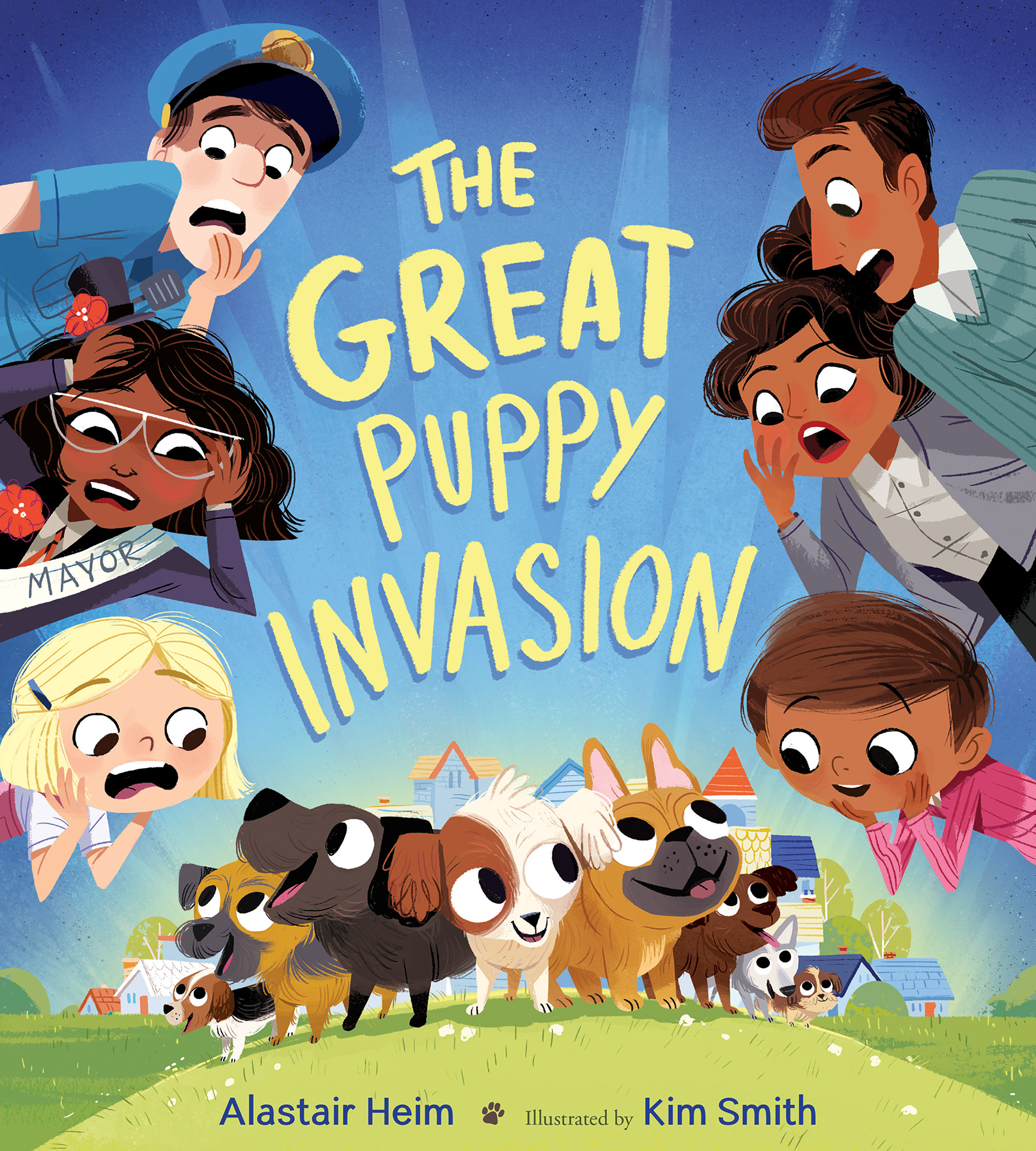 The Great Puppy Invasion-9780544999176