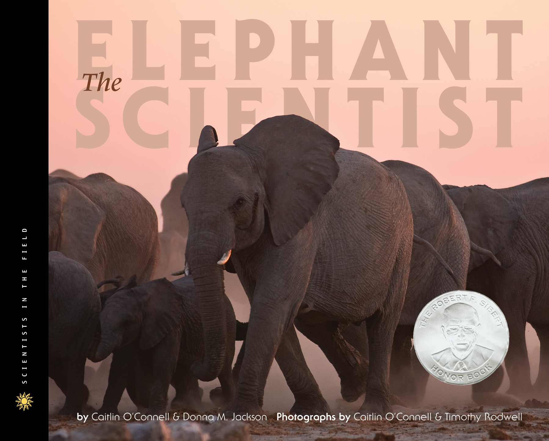 The Elephant Scientist-9780547053448