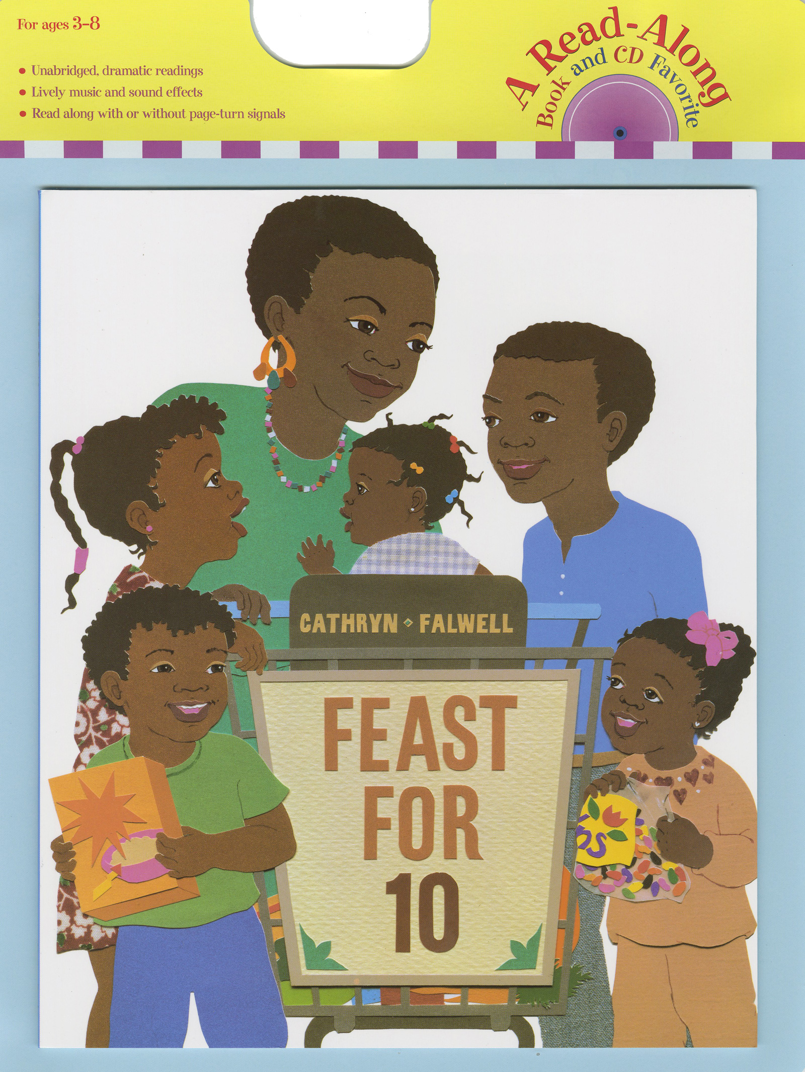 Feast for 10 Book & CD-9780547064314