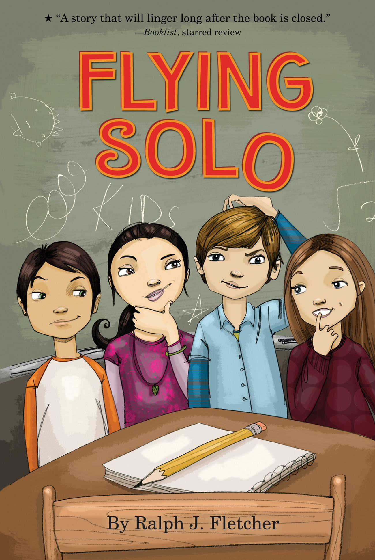 Flying Solo-9780547076522