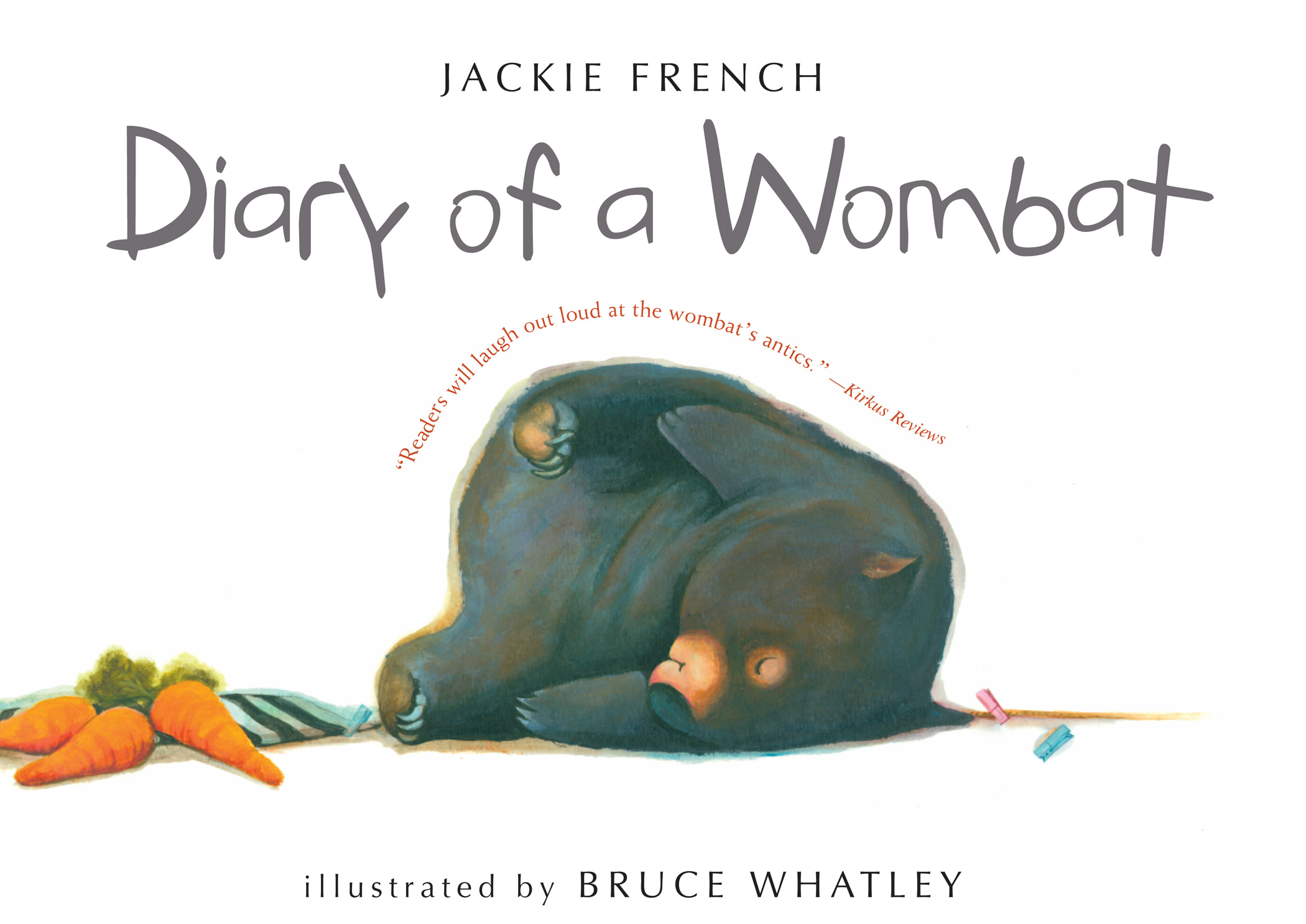 Diary of a Wombat-9780547076690