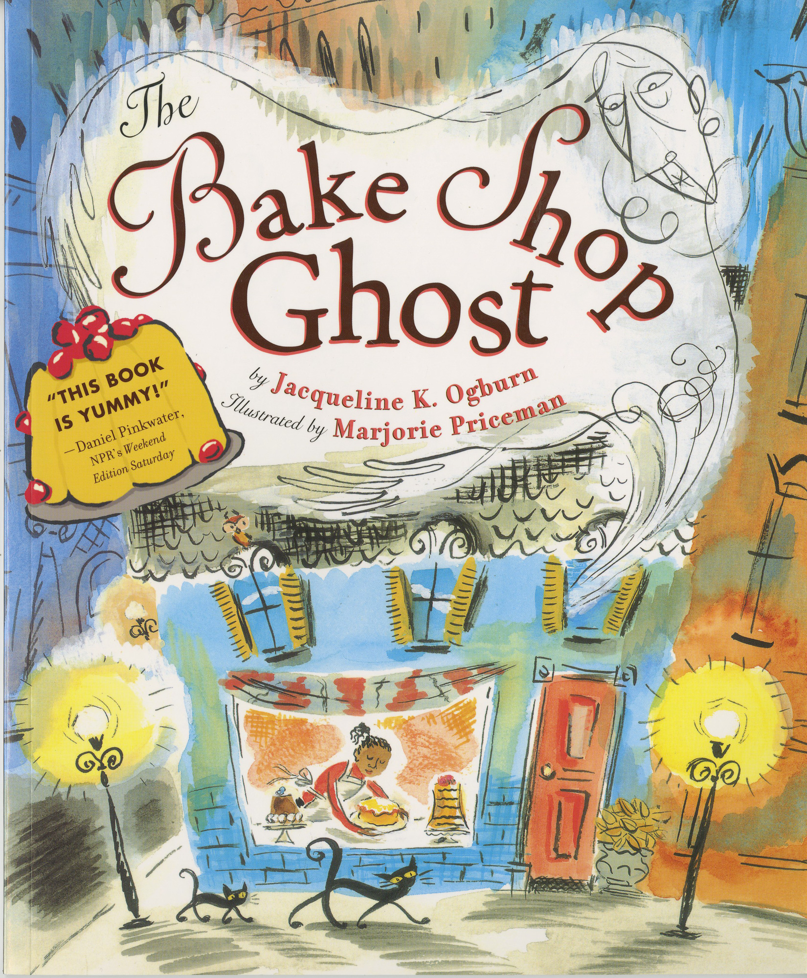 The Bake Shop Ghost-9780547076775