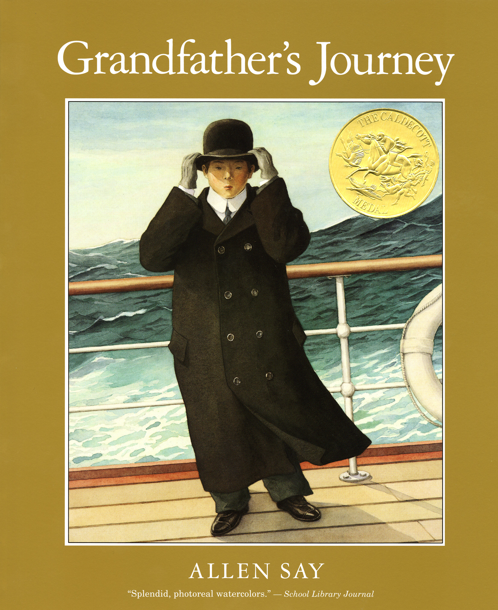 Grandfather's Journey-9780547076805