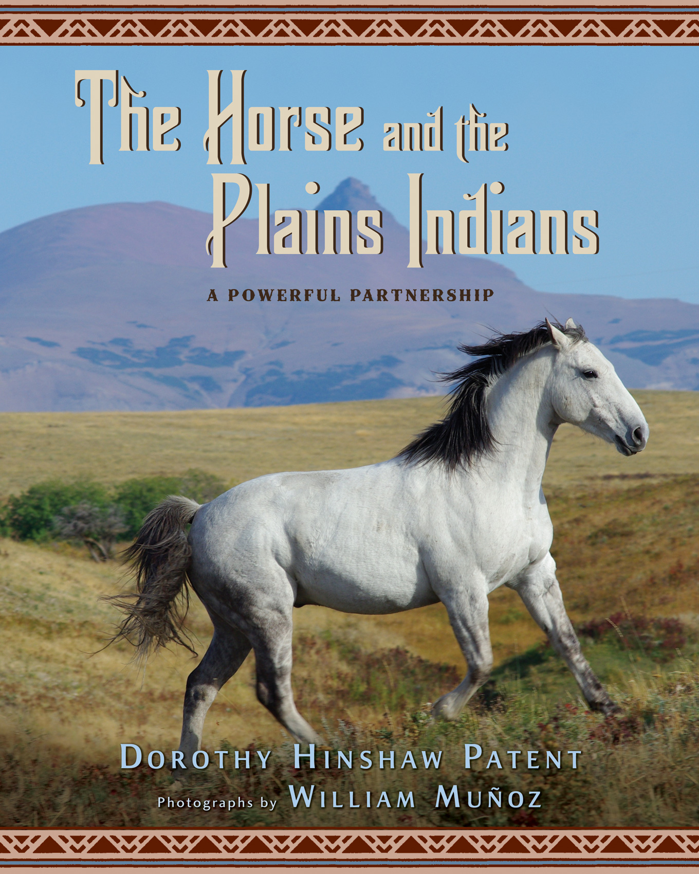The Horse and the Plains Indians-9780547125510