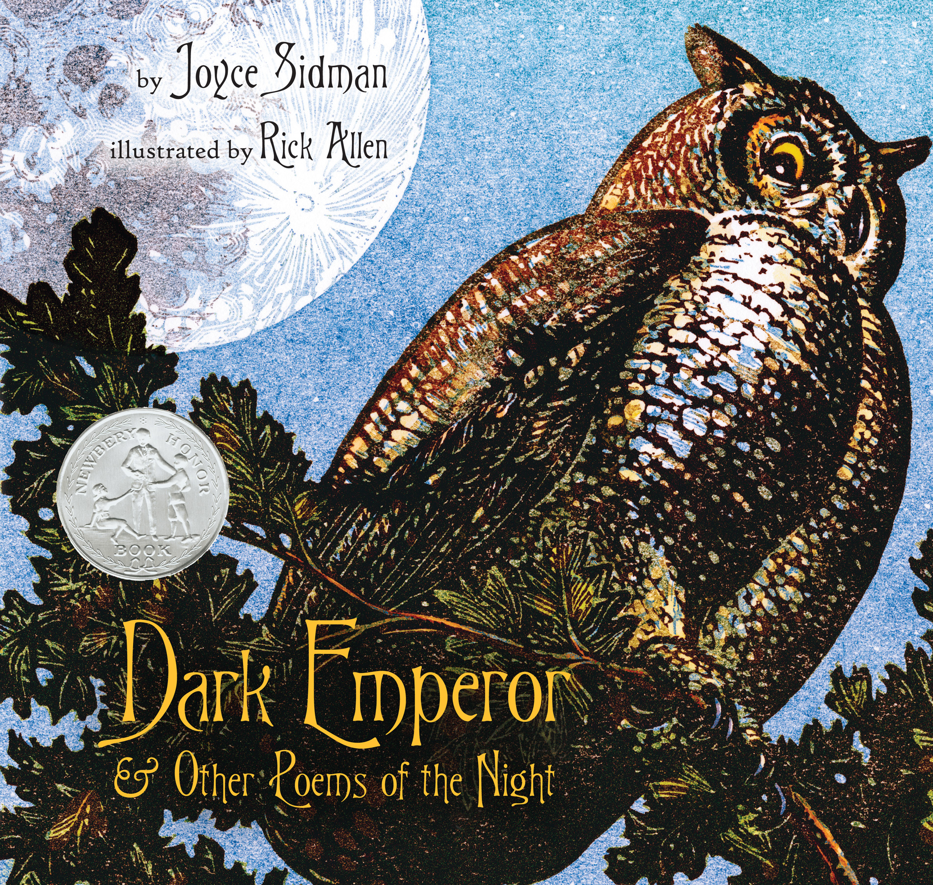 Dark Emperor and Other Poems of the Night-9780547152288