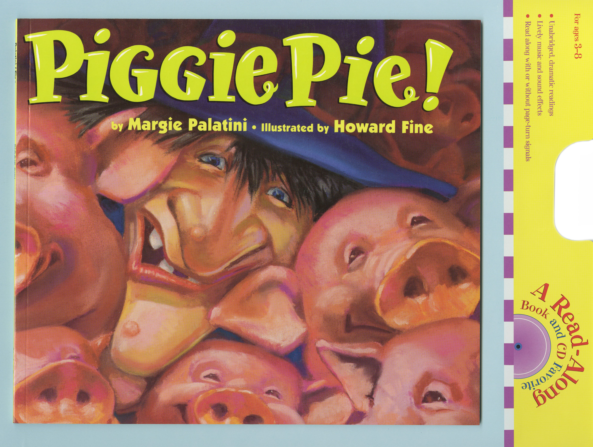 Piggie Pie! Book & CD-9780547181783