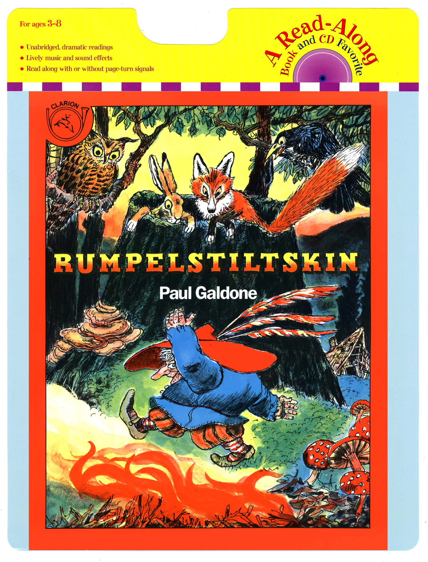 Rumpelstiltskin Book & CD-9780547181813