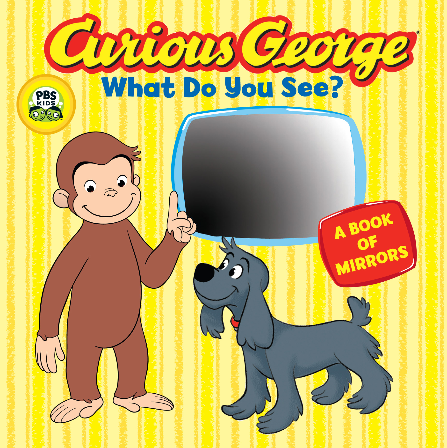 Curious George What Do You See? (CGTV Board Book)-9780547182636