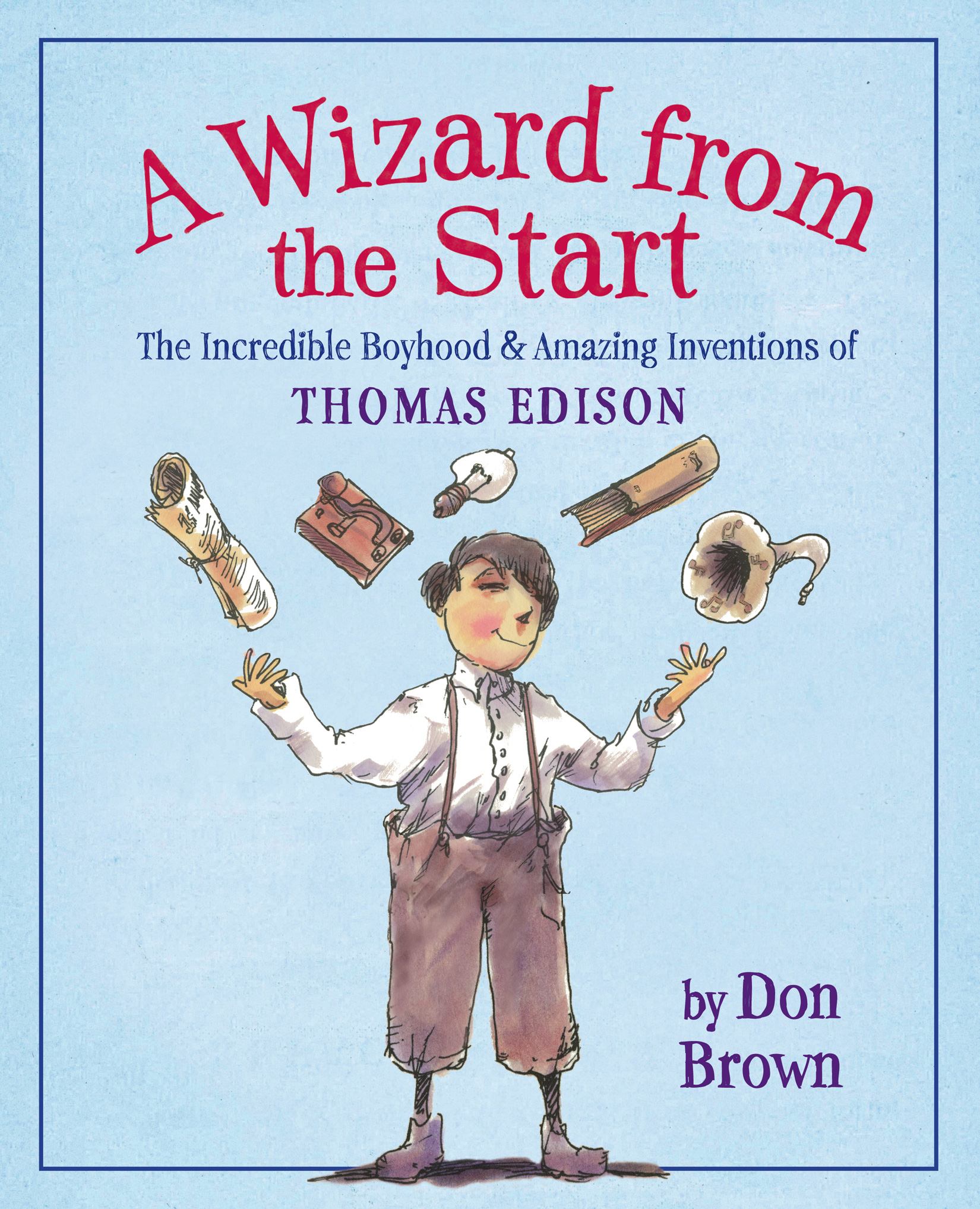 A Wizard from the Start-9780547194875