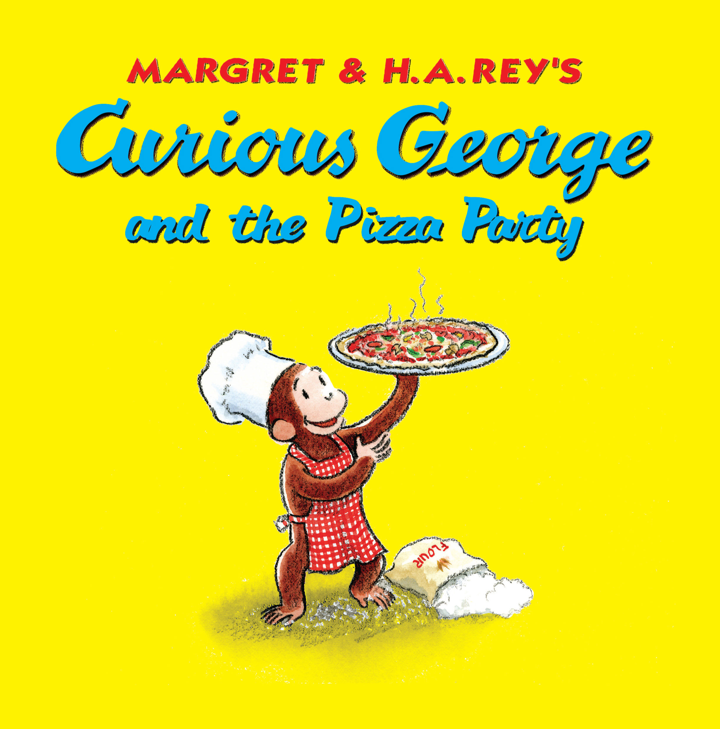Curious George and the Pizza Party-9780547232119