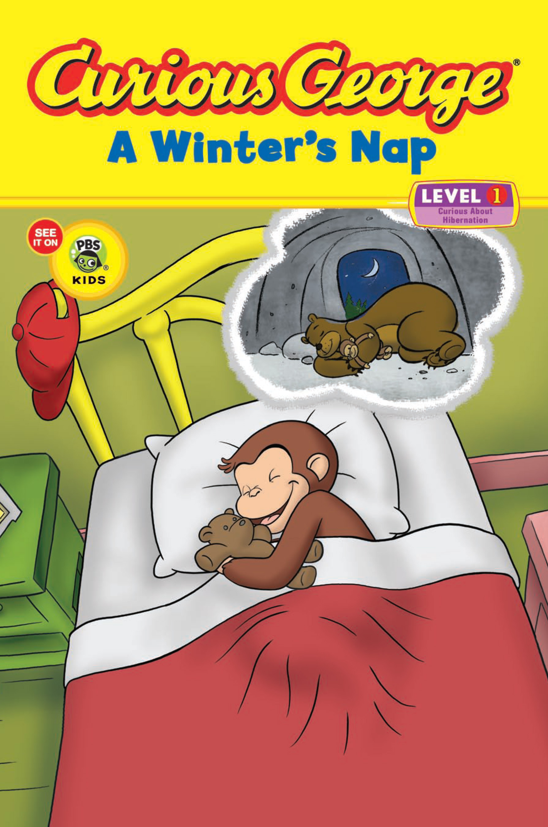 Curious George A Winter's Nap (CGTV Reader)-9780547235905