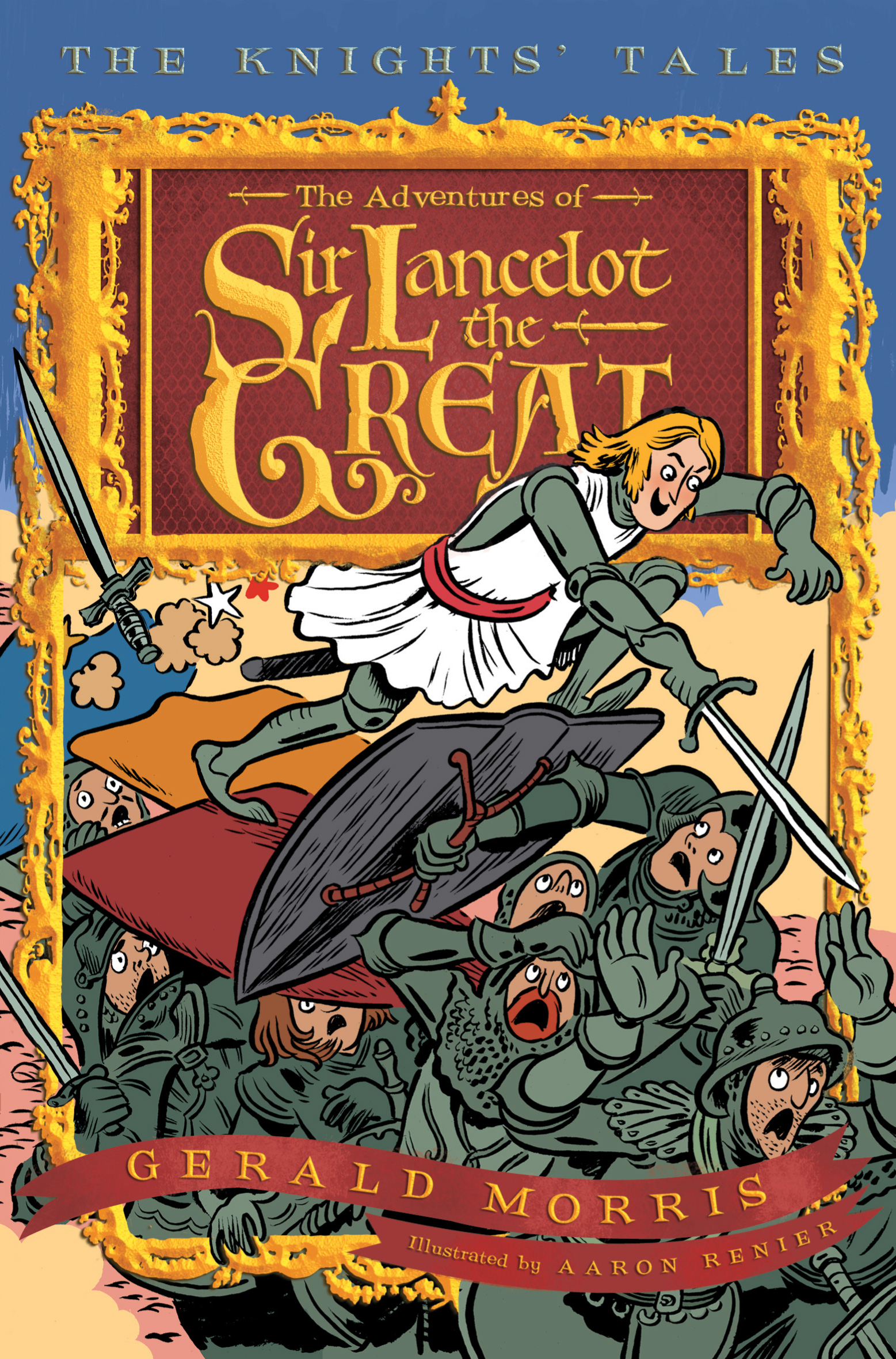 The Adventures of Sir Lancelot the Great-9780547237565