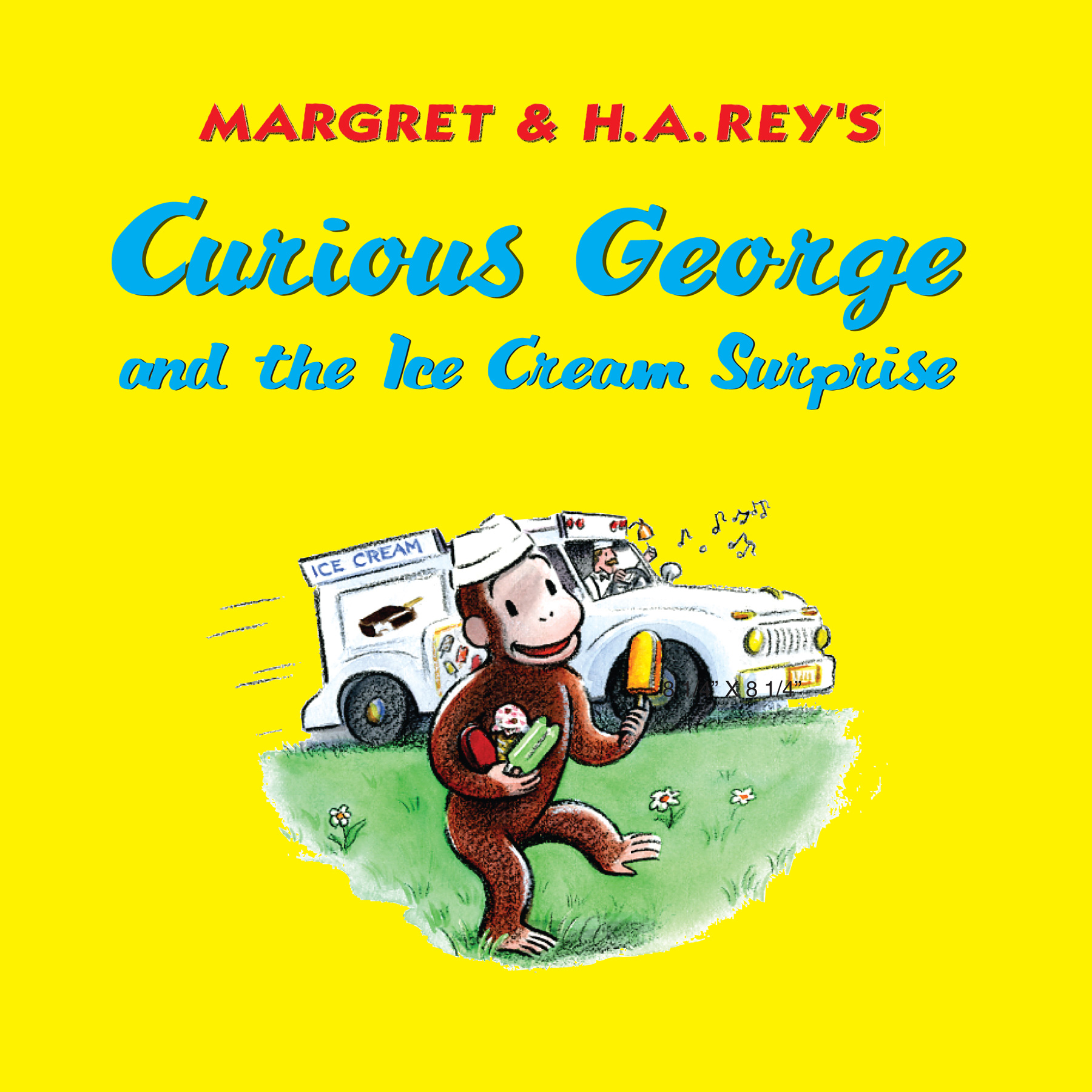 Curious George and the Ice Cream Surprise-9780547242859