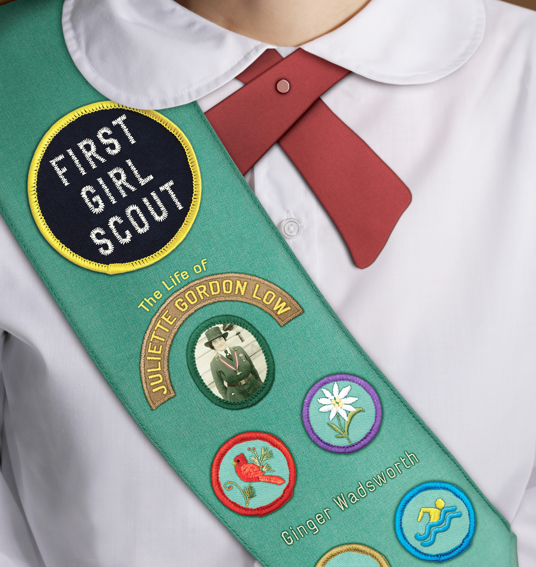 First Girl Scout-9780547243948