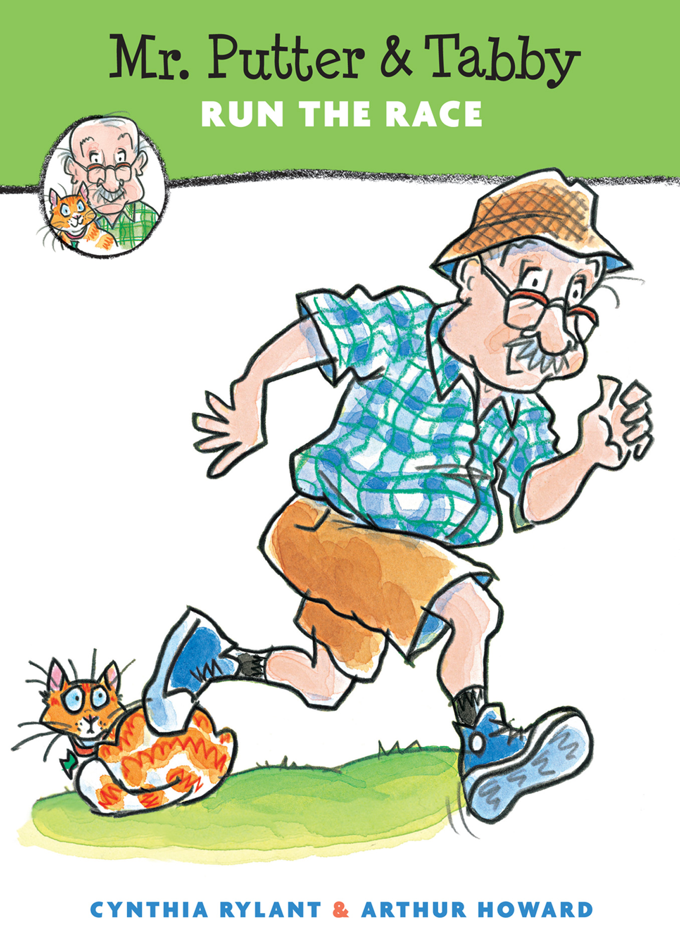 Mr. Putter & Tabby Run the Race-9780547248240