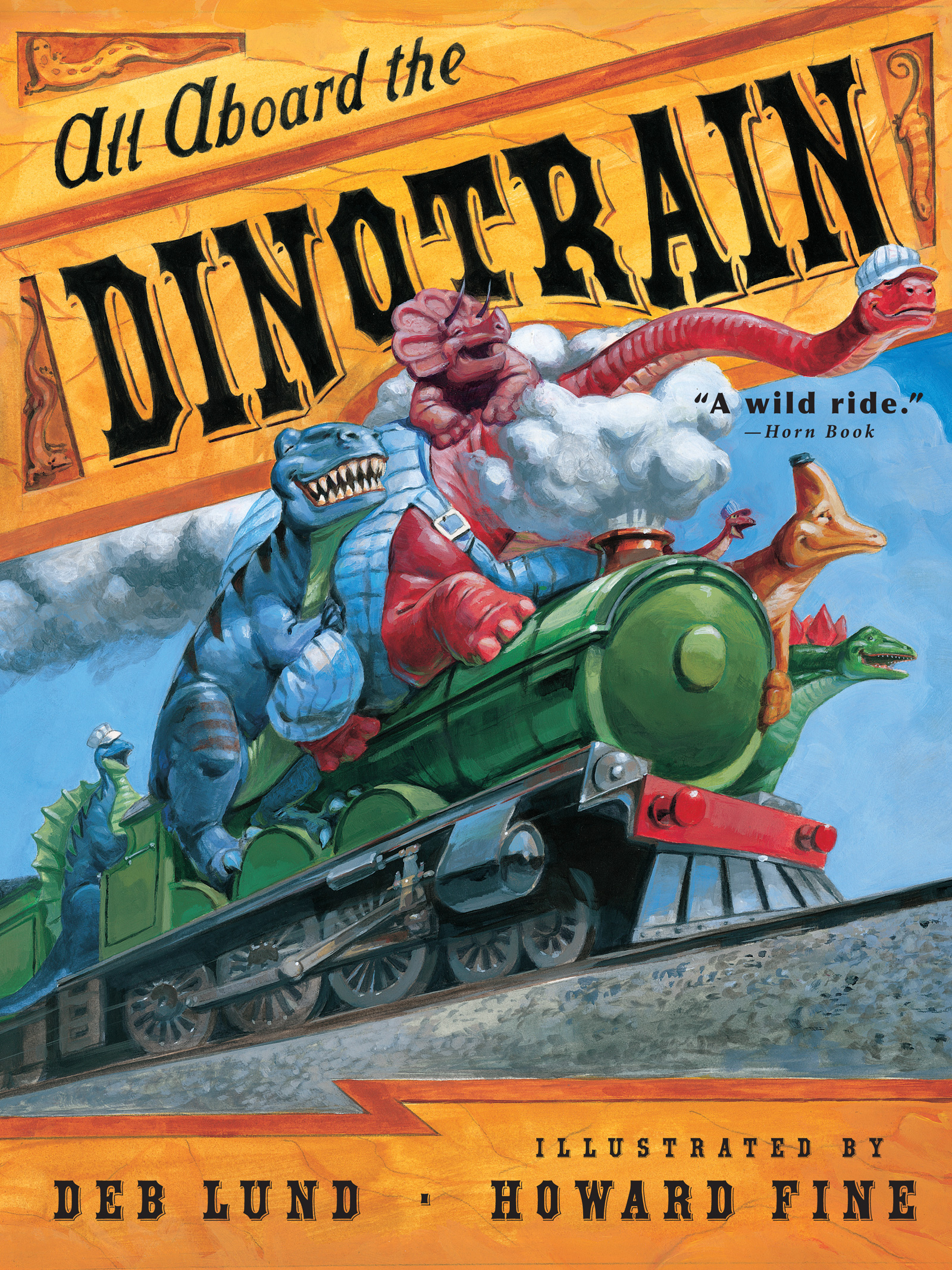 All Aboard the Dinotrain-9780547248257