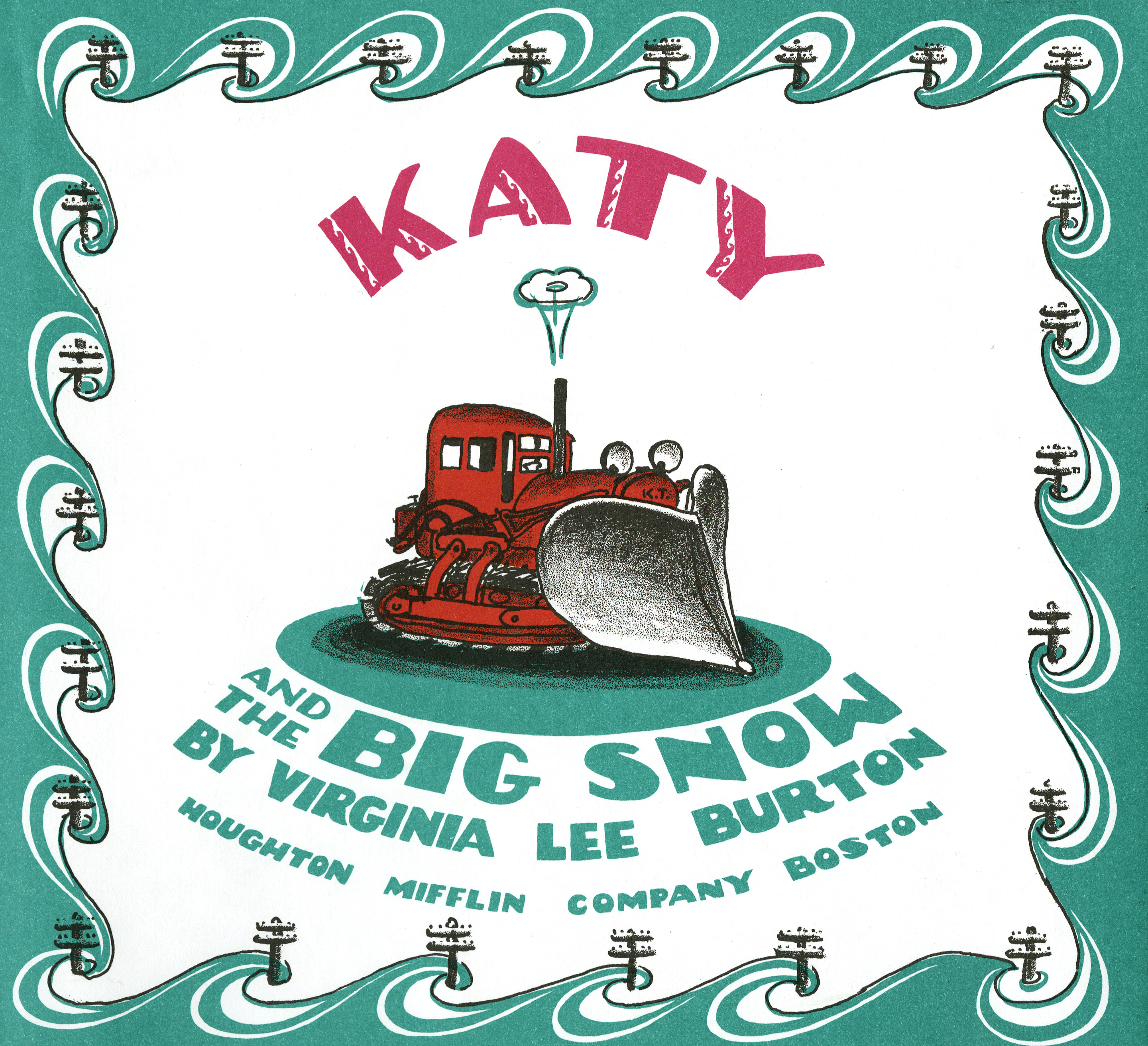 Katy and the Big Snow Book and CD-9780547252643