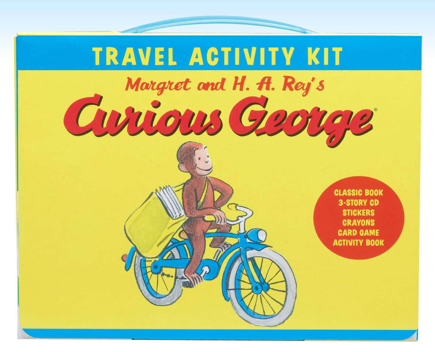 Curious George Travel Activity Kit-9780547258751