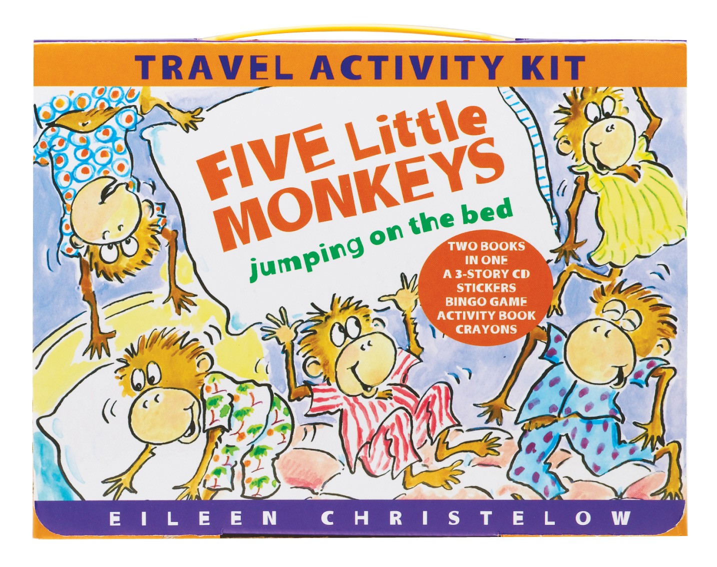 Five Little Monkeys Travel Activity Kit-9780547258799