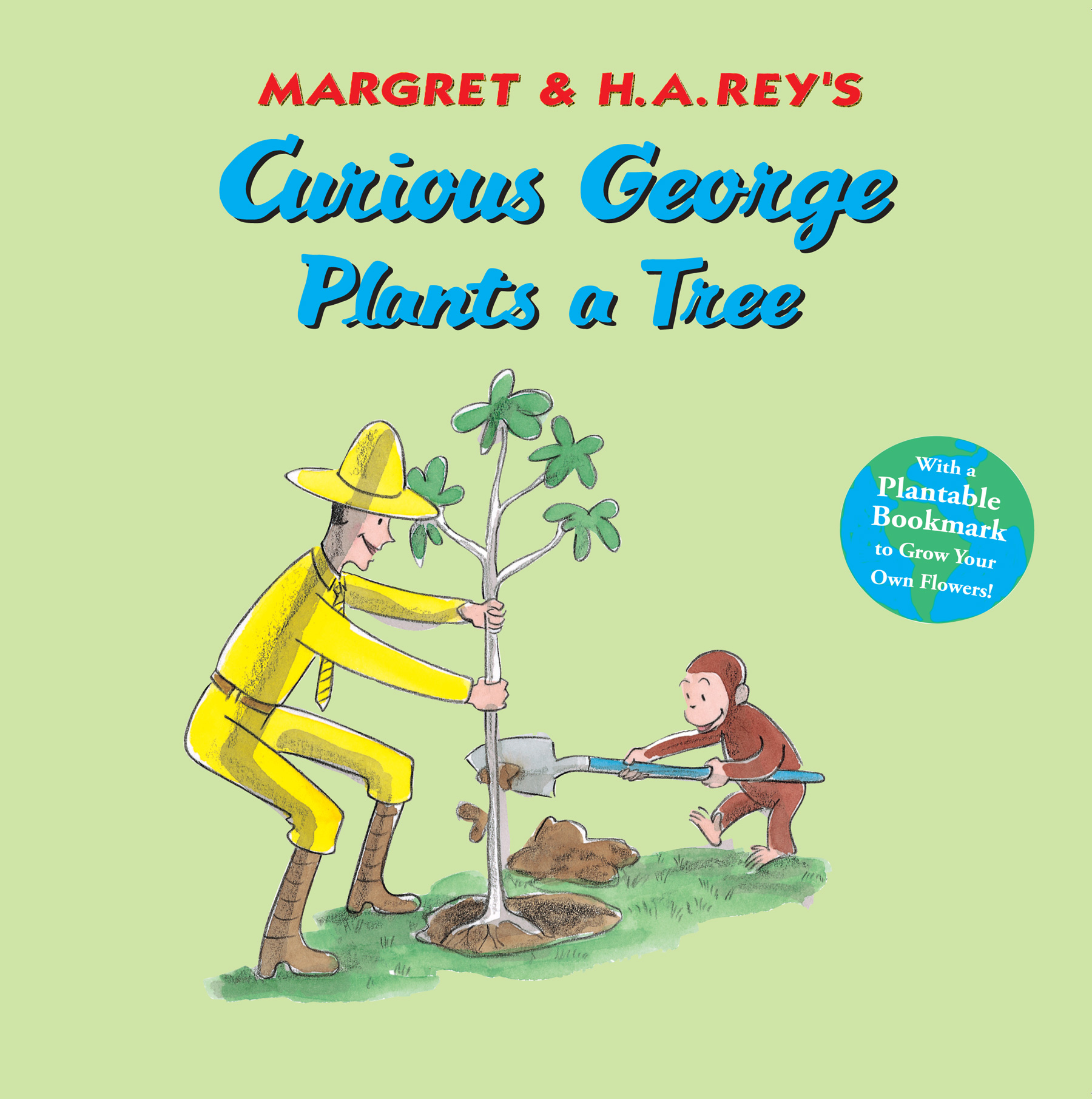 Curious George Plants A Tree-9780547297767