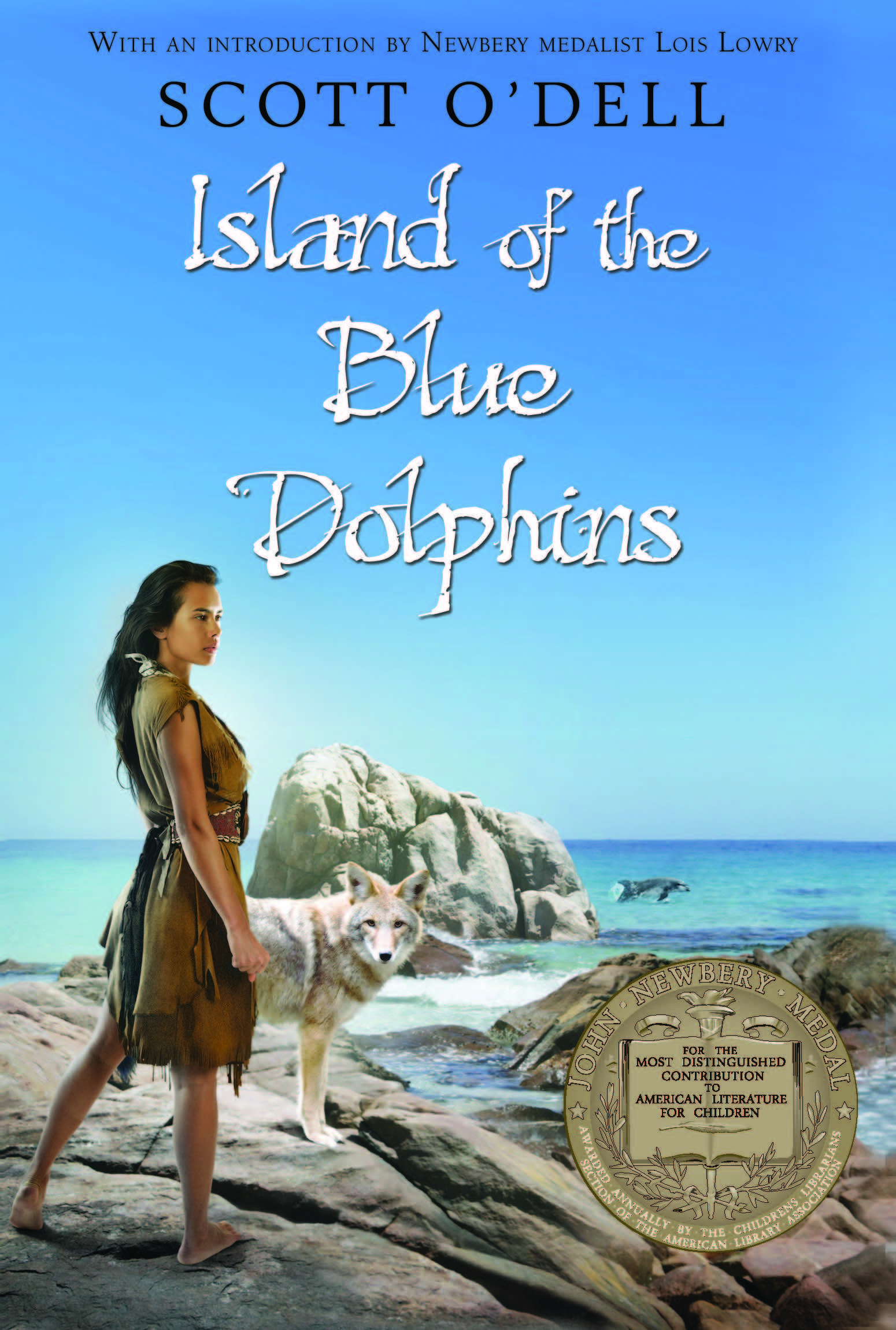 Island of the Blue Dolphins-9780547328614