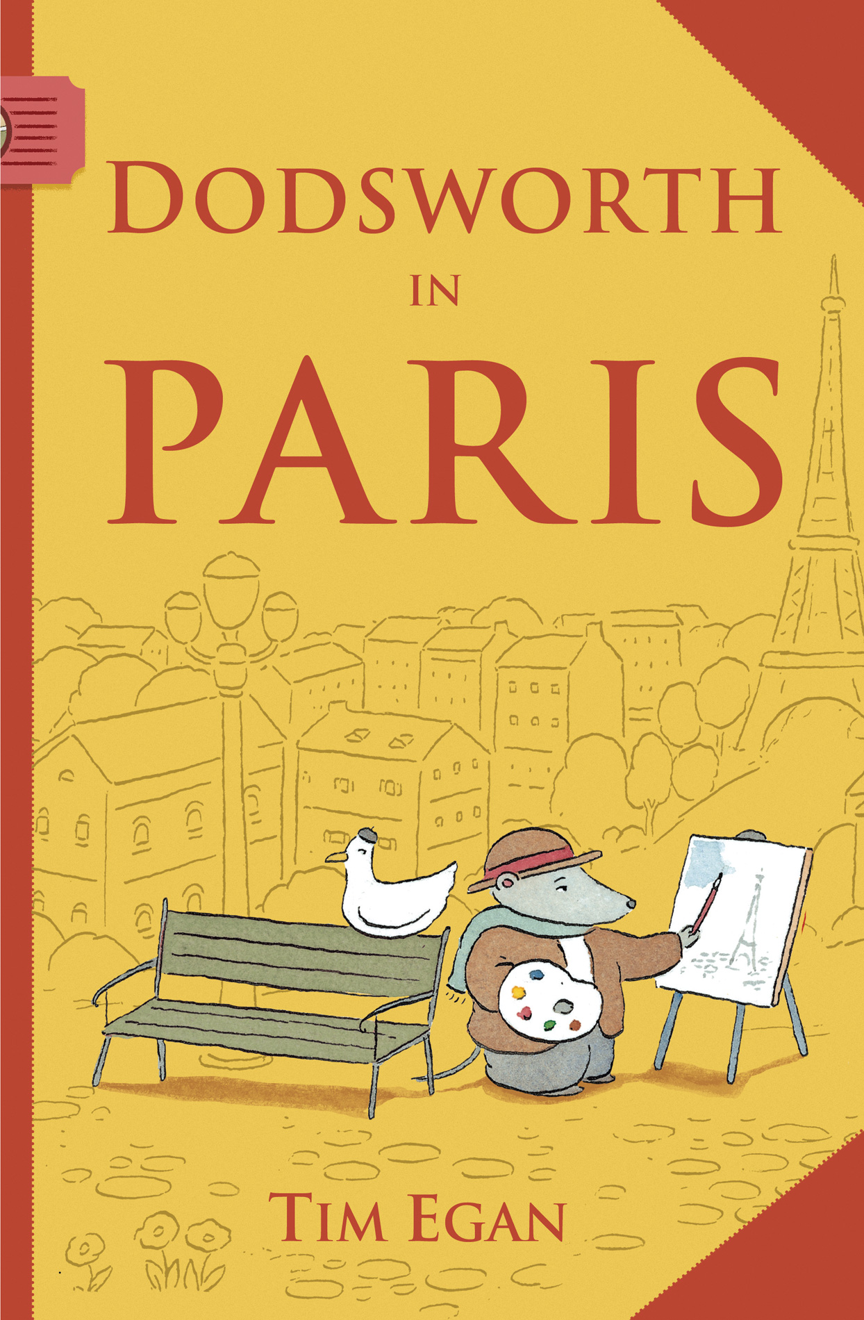 Dodsworth in Paris (reader)-9780547331928